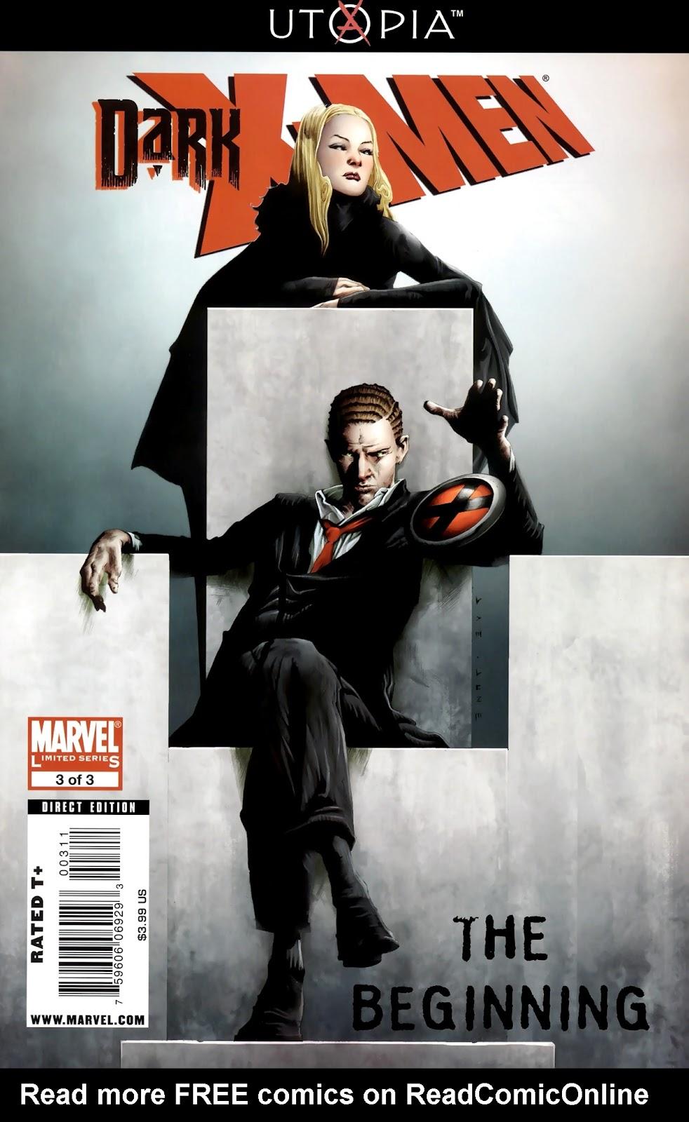 Dark X-Men: The Beginning issue 3 - Page 1