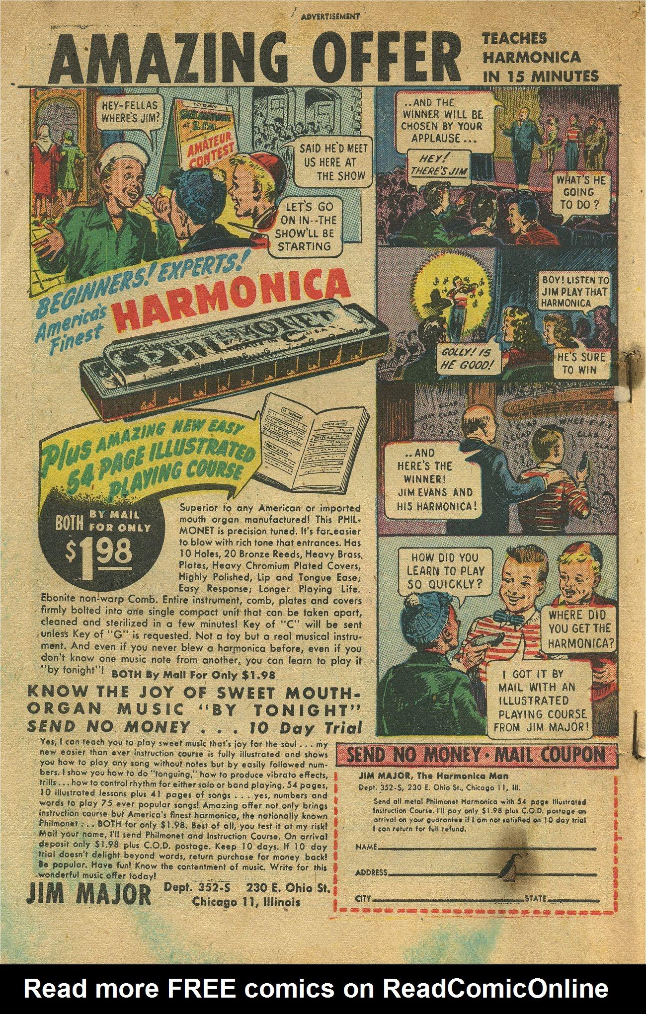 Read online Shadow Comics comic -  Issue #93 - 51