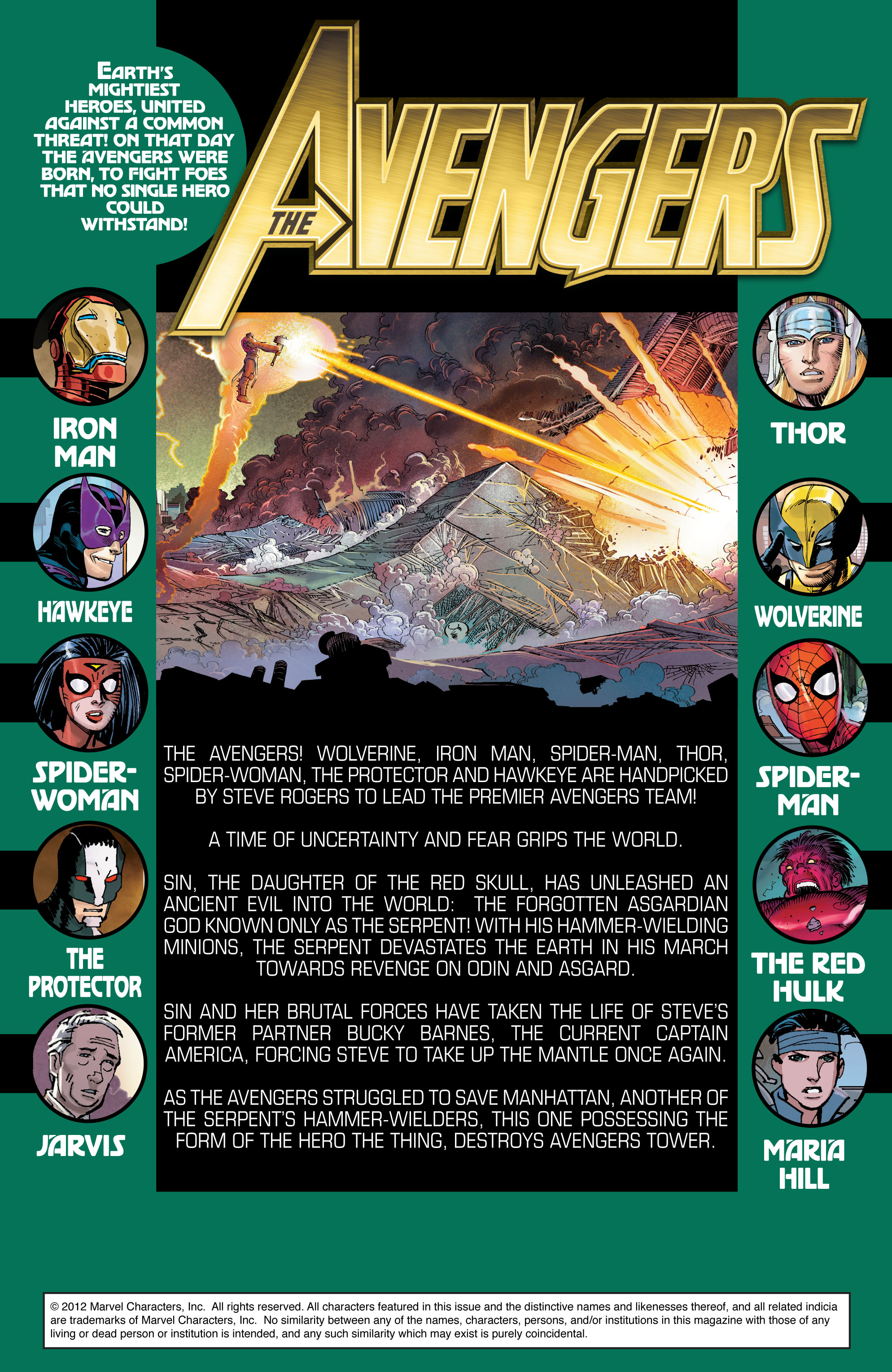 Read online Avengers (2010) comic -  Issue #17 - 2