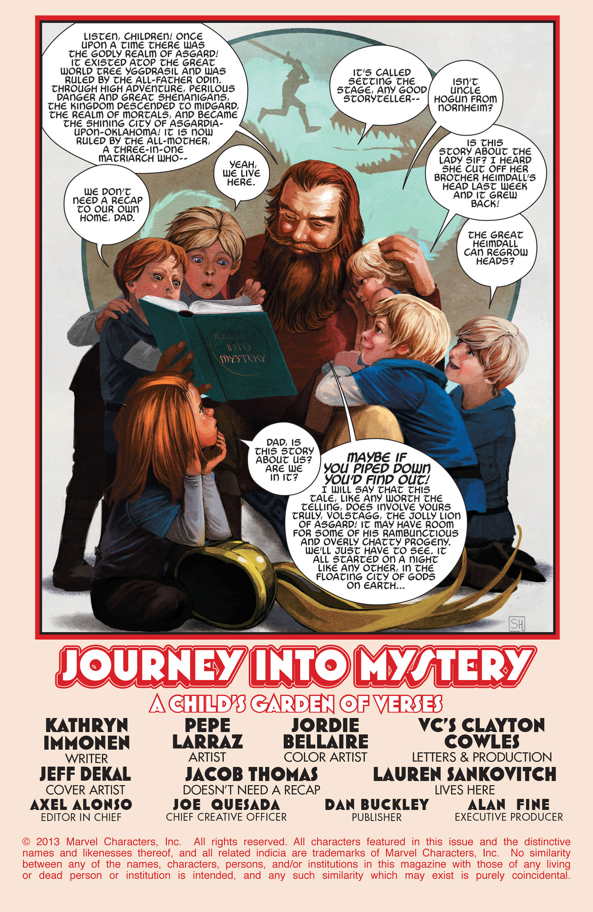 Read online Journey into Mystery (2011) comic -  Issue #651 - 2