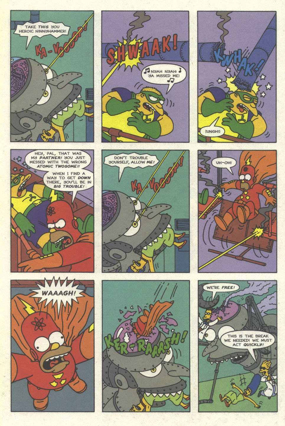 Read online Simpsons Comics comic -  Issue #31 - 22