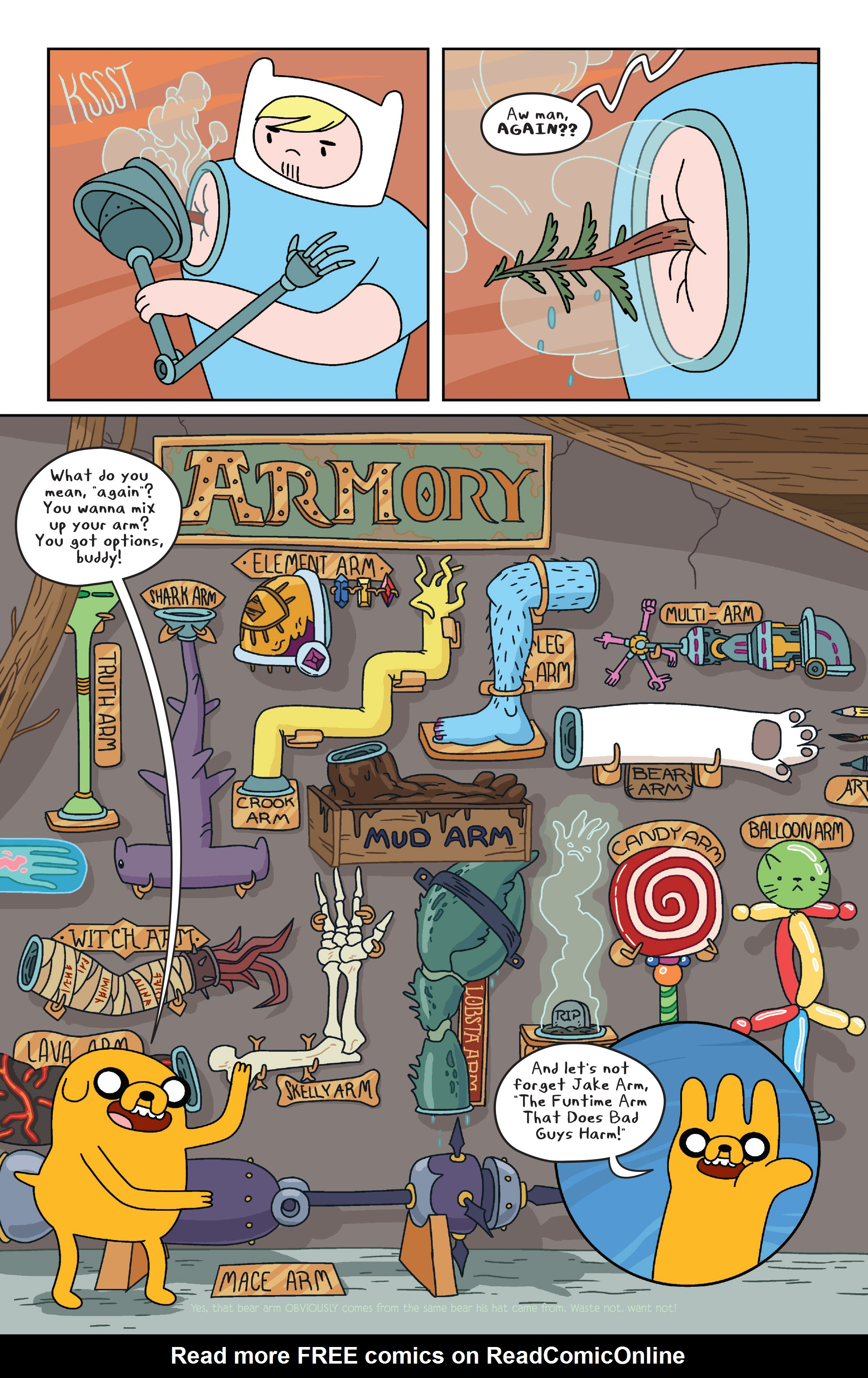 Read online Adventure Time comic -  Issue #32 - 4