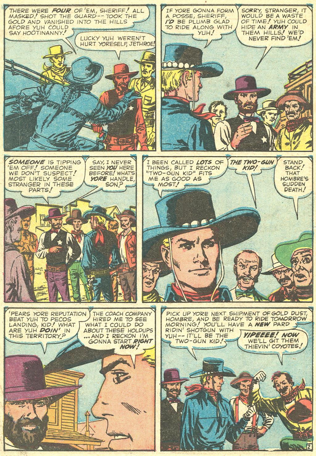 Read online Two-Gun Kid comic -  Issue #51 - 4