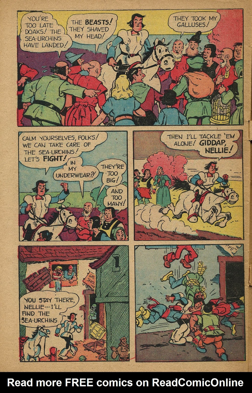 Read online Famous Funnies comic -  Issue #162 - 44