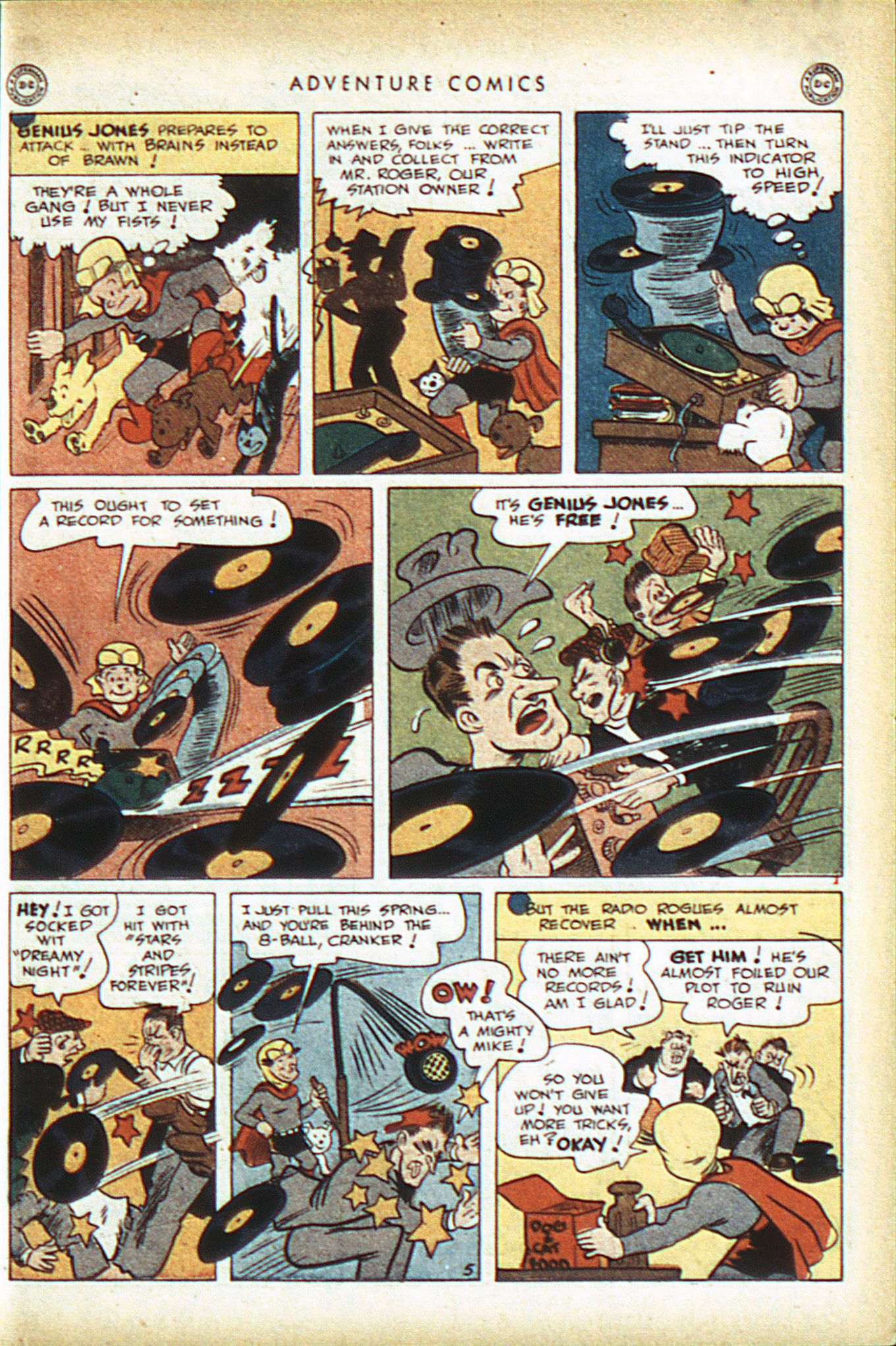 Read online Adventure Comics (1938) comic -  Issue #93 - 40