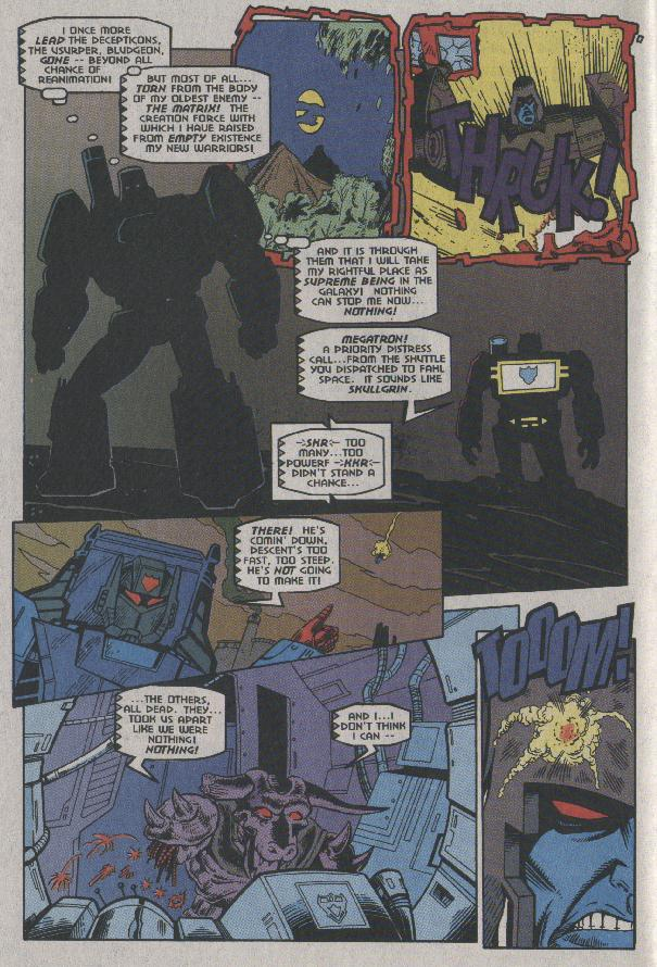 Read online Transformers: Generation 2 comic -  Issue #7 - 8