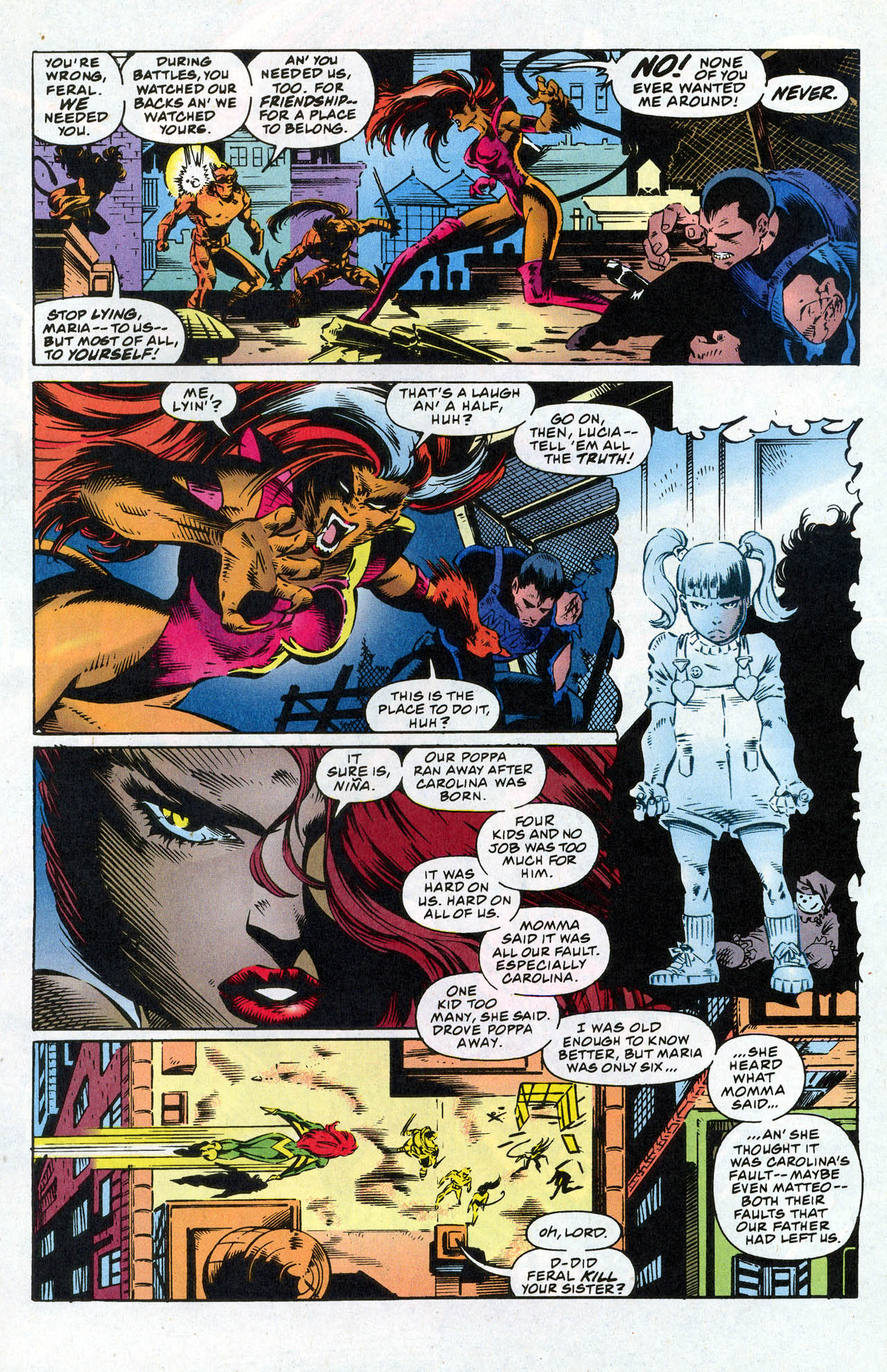 Read online X-Force (1991) comic -  Issue #41 - 21