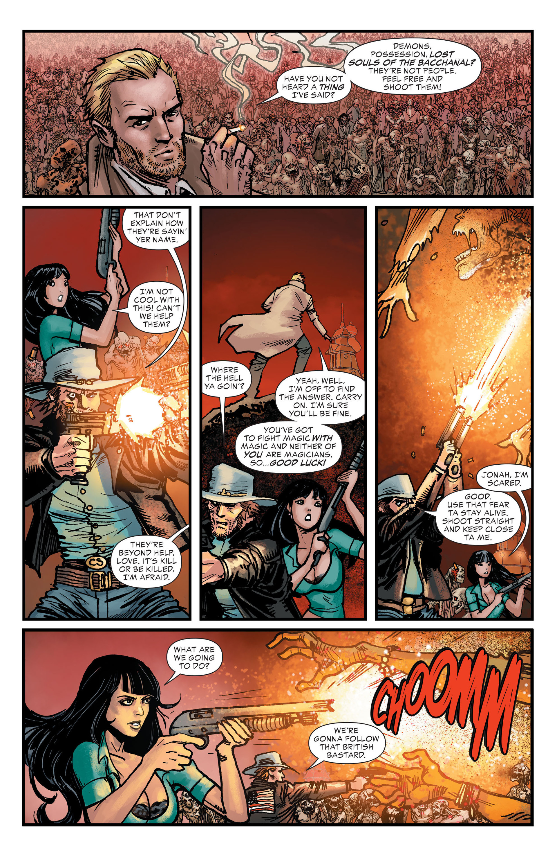 Read online All-Star Western (2011) comic -  Issue #25 - 4