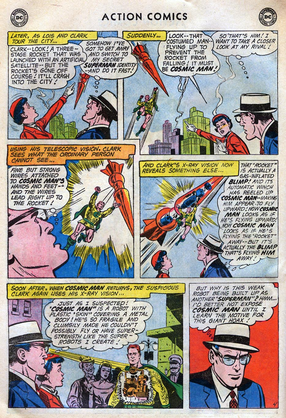 Read online Action Comics (1938) comic -  Issue #258 - 6