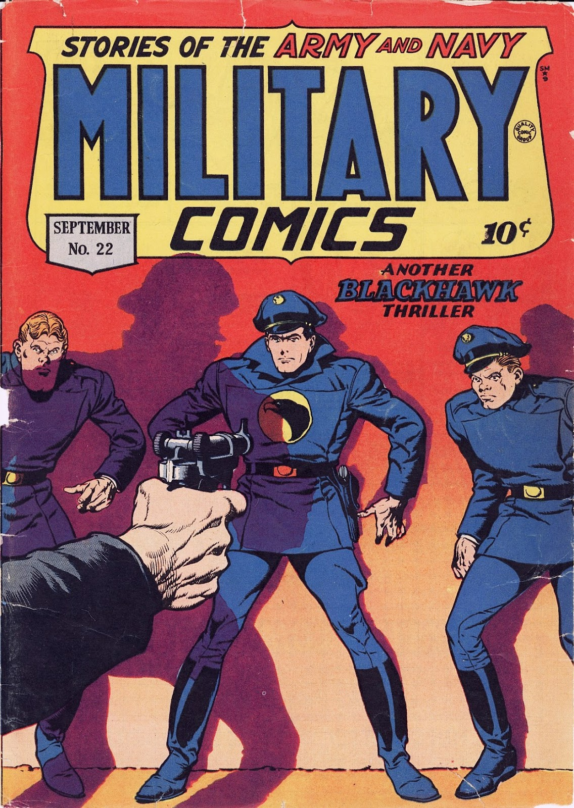 Military Comics issue 22 - Page 1