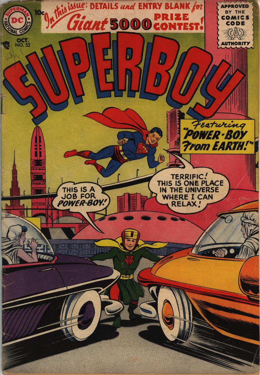 Superboy (1949) issue 52 - Page 1