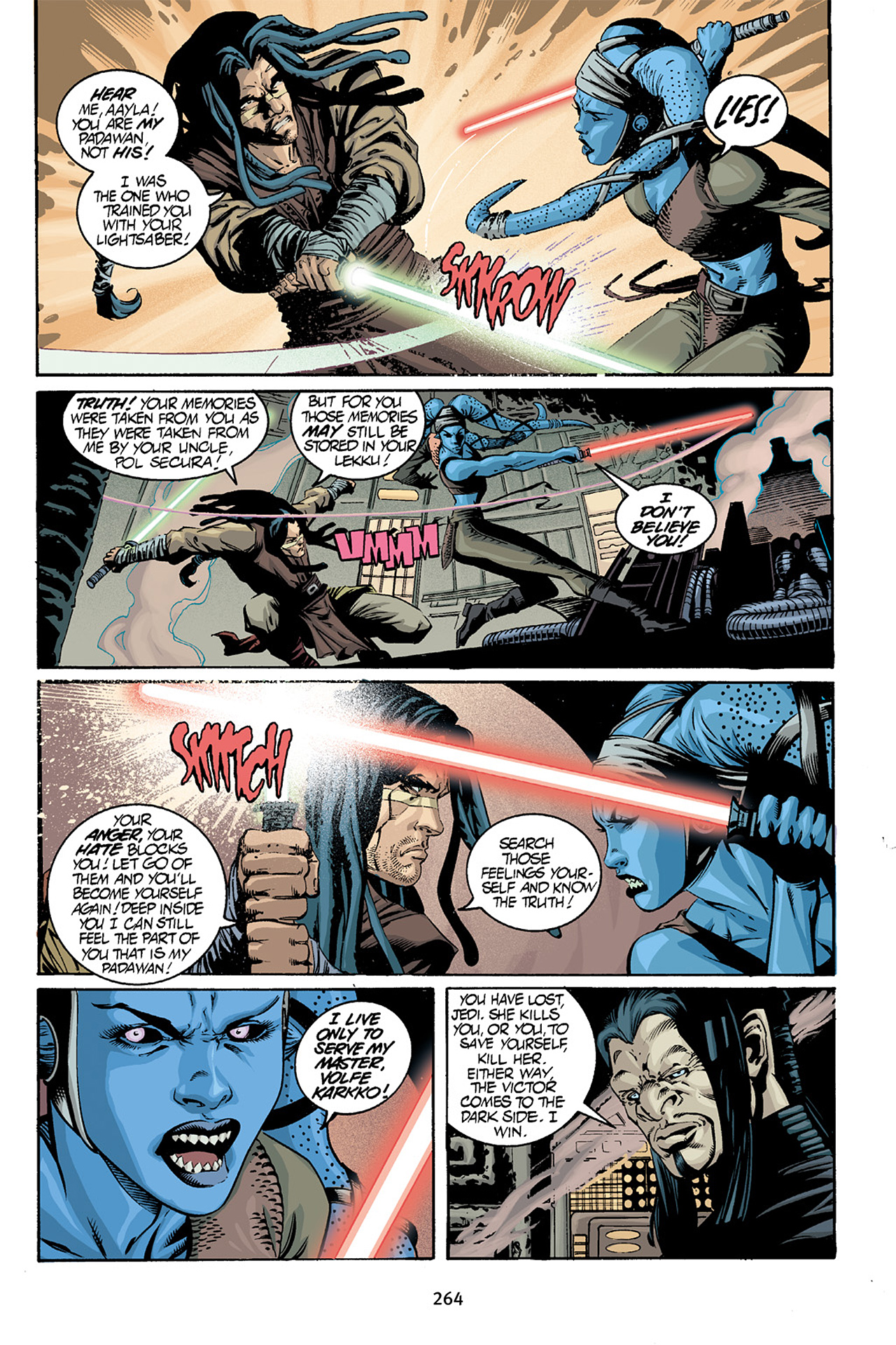 Read online Star Wars Omnibus comic -  Issue # Vol. 15 - 261