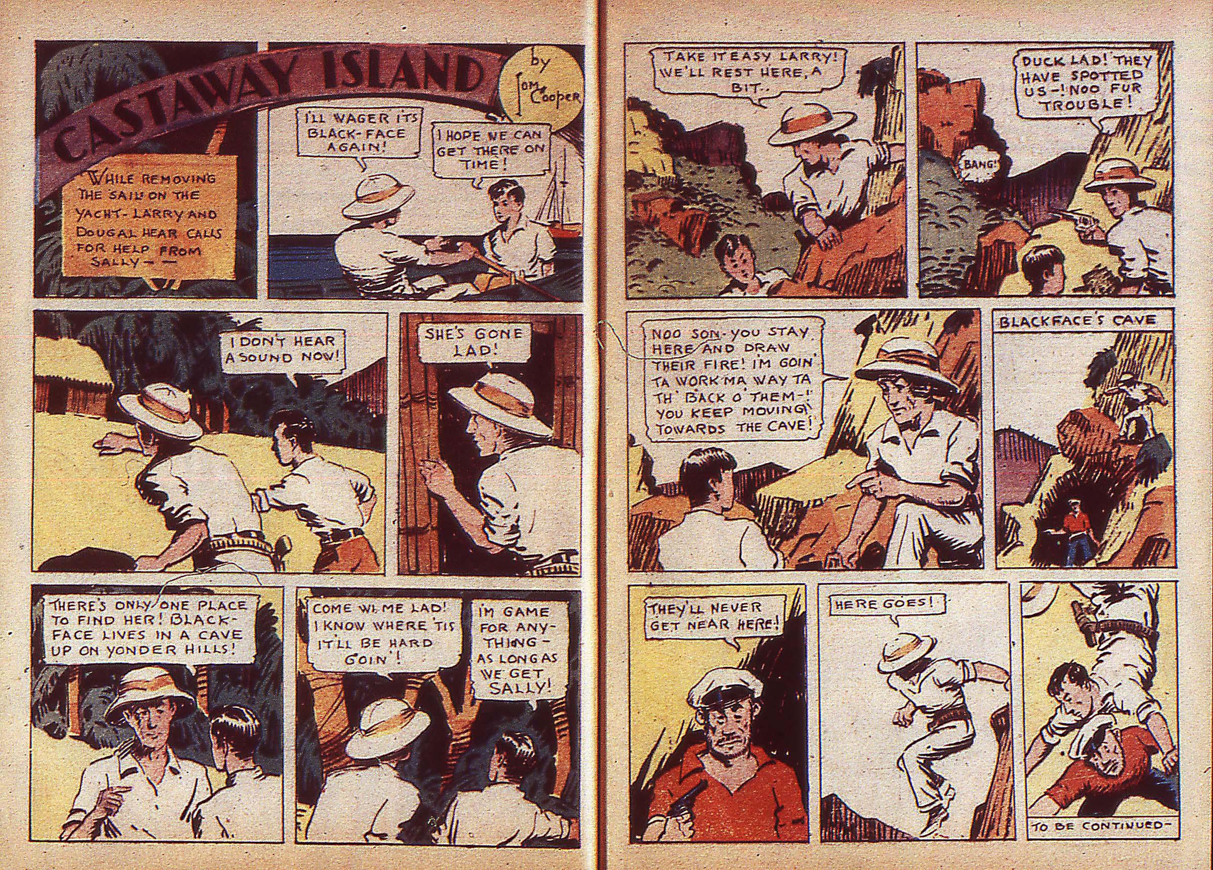 Read online Adventure Comics (1938) comic -  Issue #5 - 5
