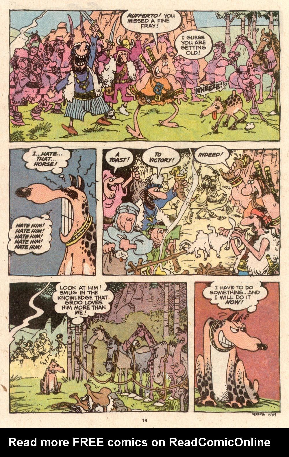 Read online Sergio Aragonés Groo the Wanderer comic -  Issue #62 - 15