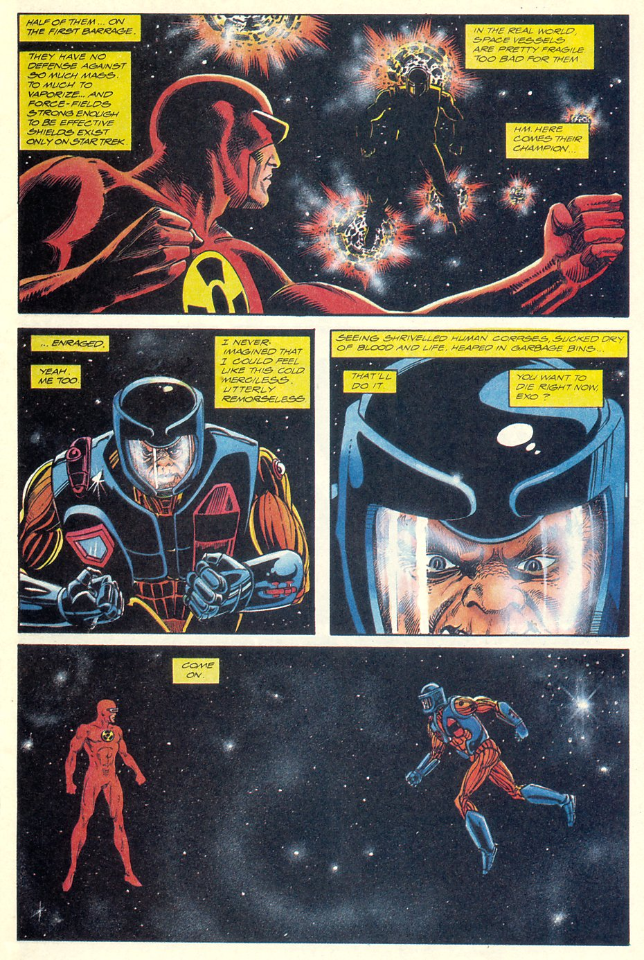 Read online Solar, Man of the Atom comic -  Issue #7 - 9