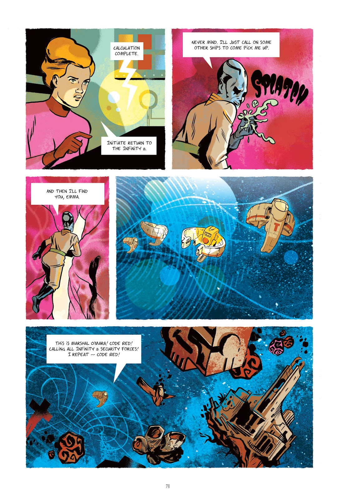 Read online Infinity 8 comic -  Issue # _TPB 3 - 78