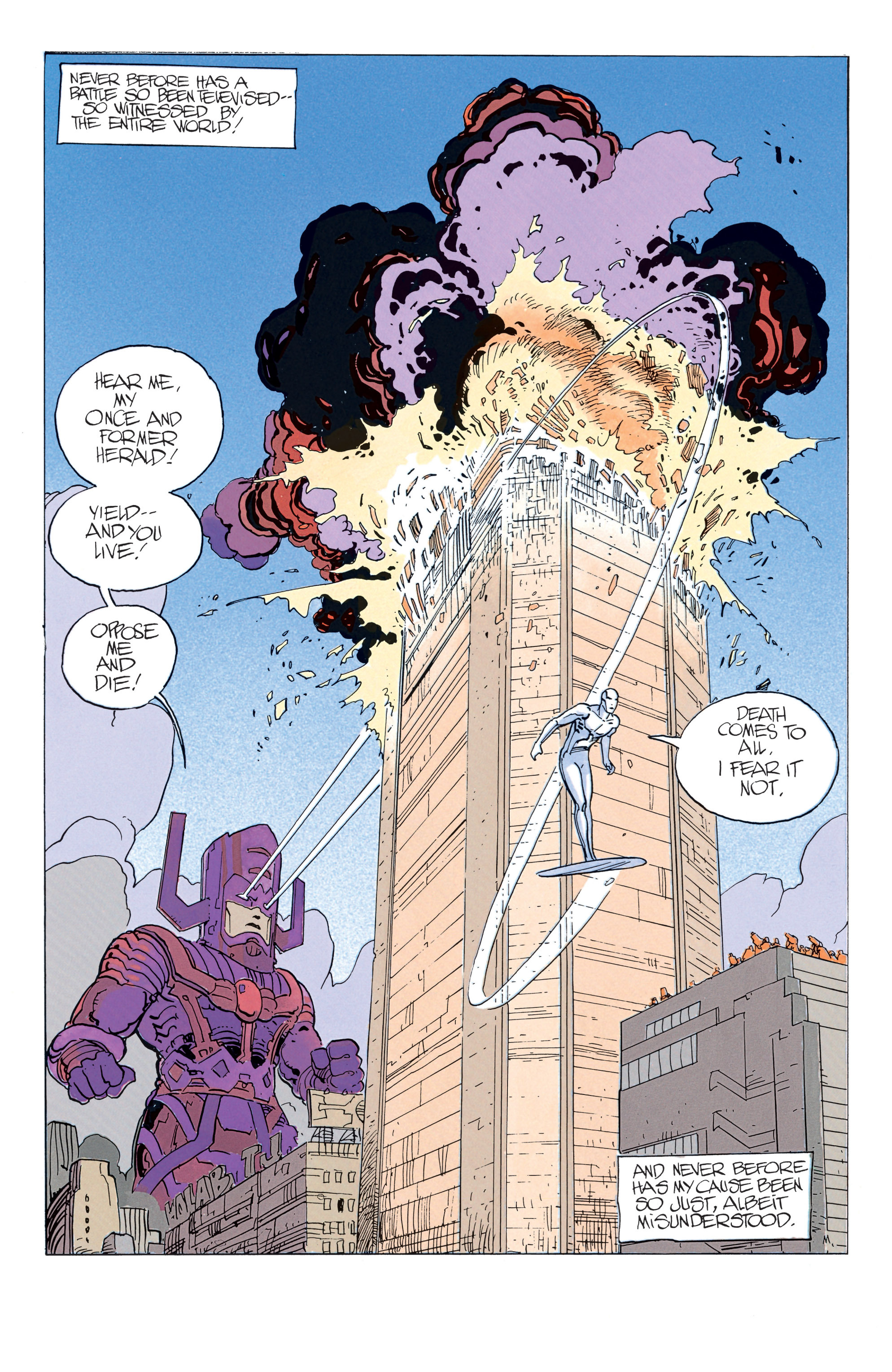 Read online Silver Surfer: Parable comic -  Issue # TPB - 32