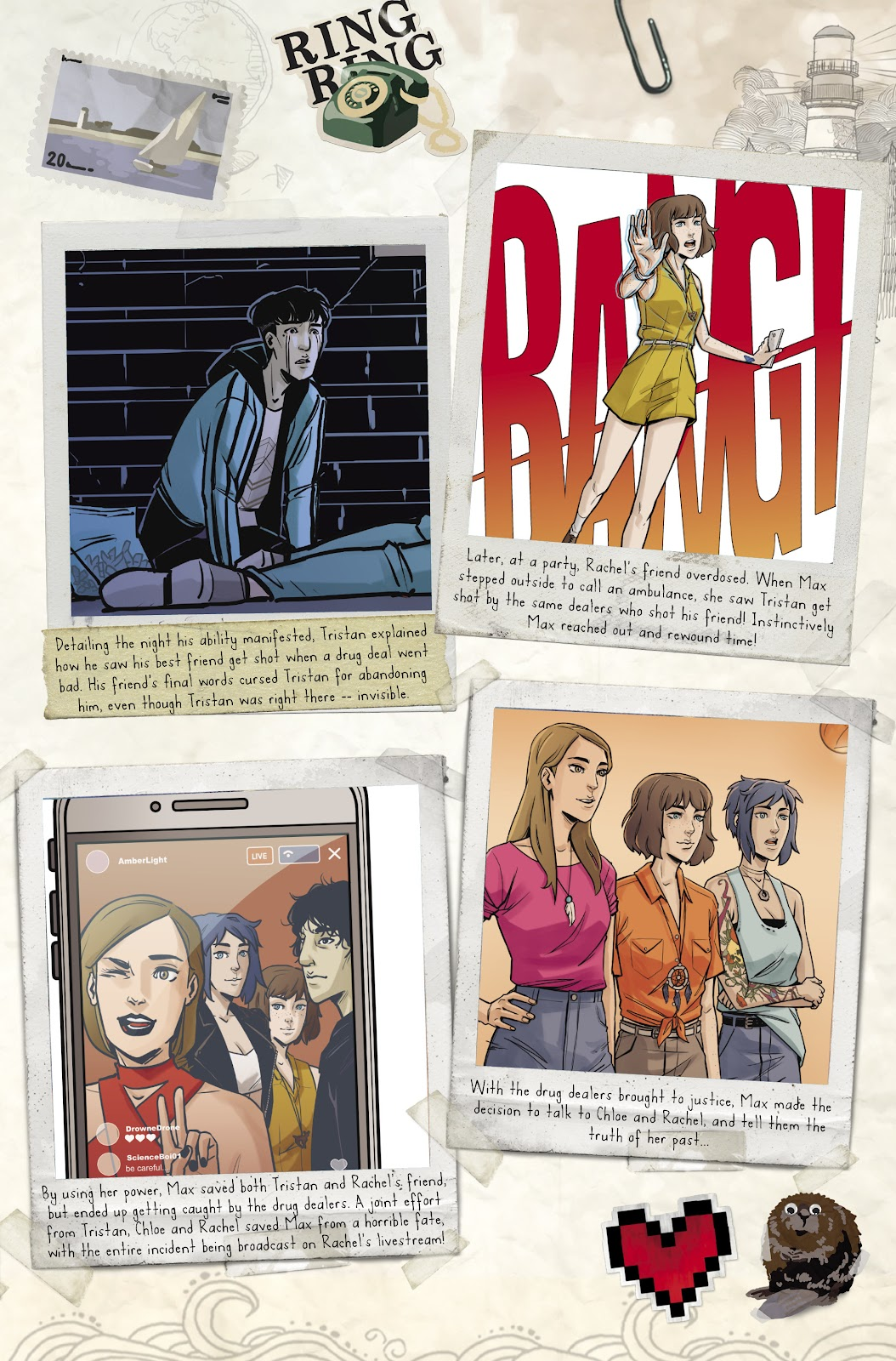 Read online Life is Strange comic -  Issue #9 - 8