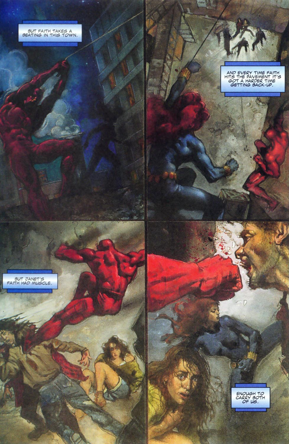 Read online Code of Honor comic -  Issue #2 - 12
