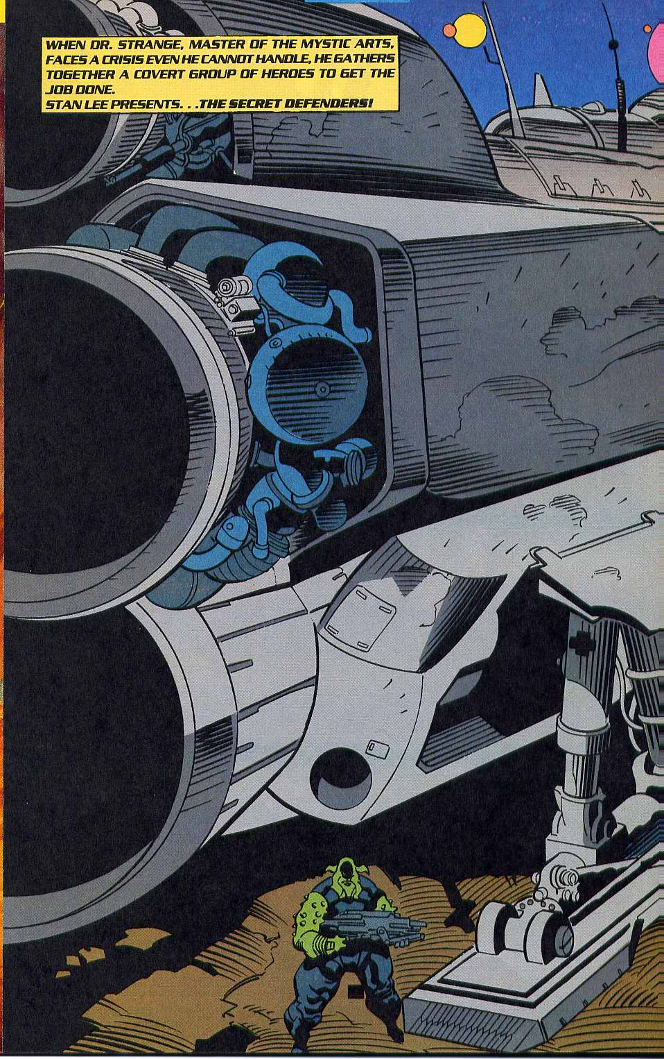 Read online Secret Defenders comic -  Issue #10 - 3