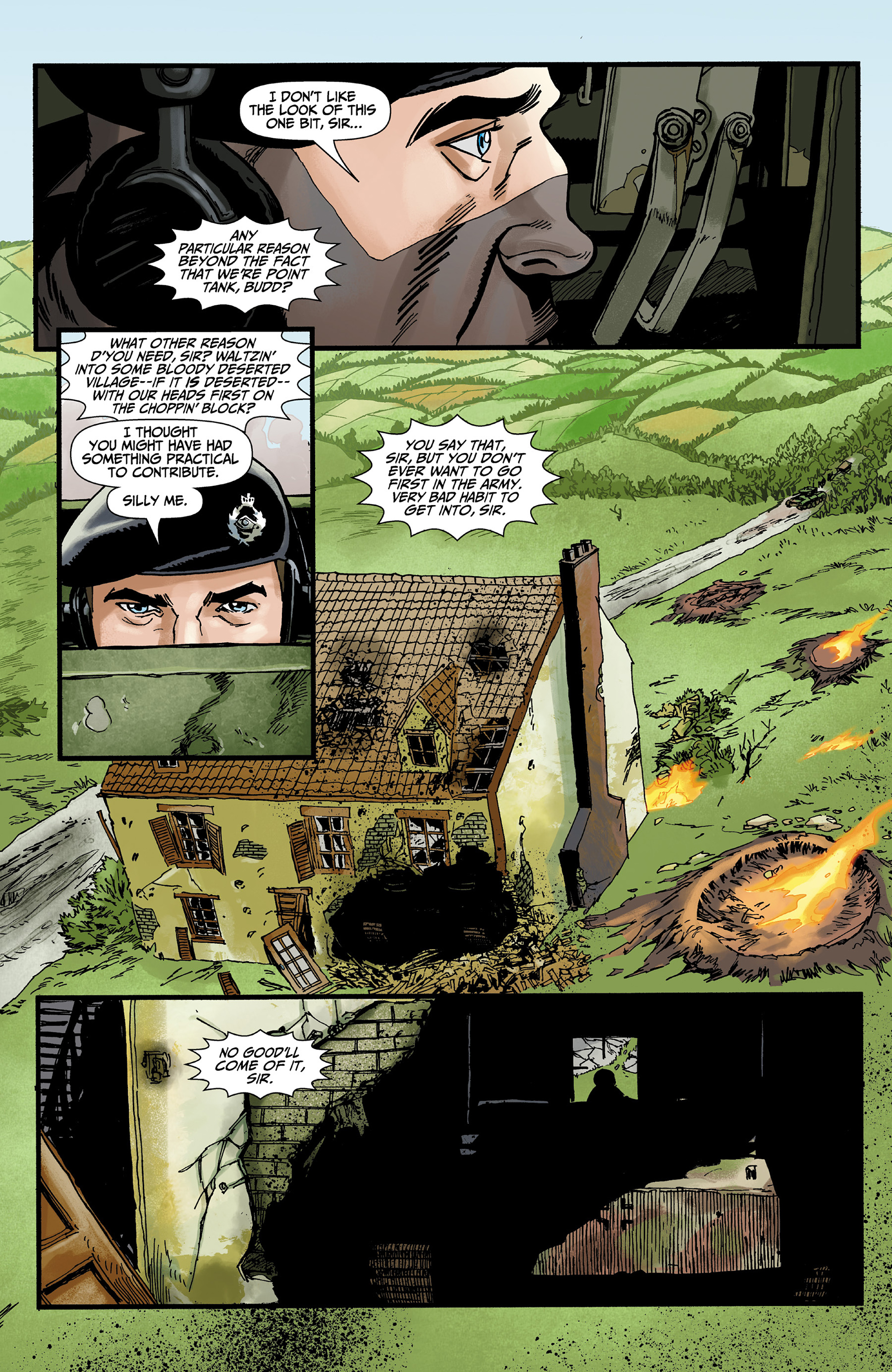 Read online World of Tanks comic -  Issue #3 - 21