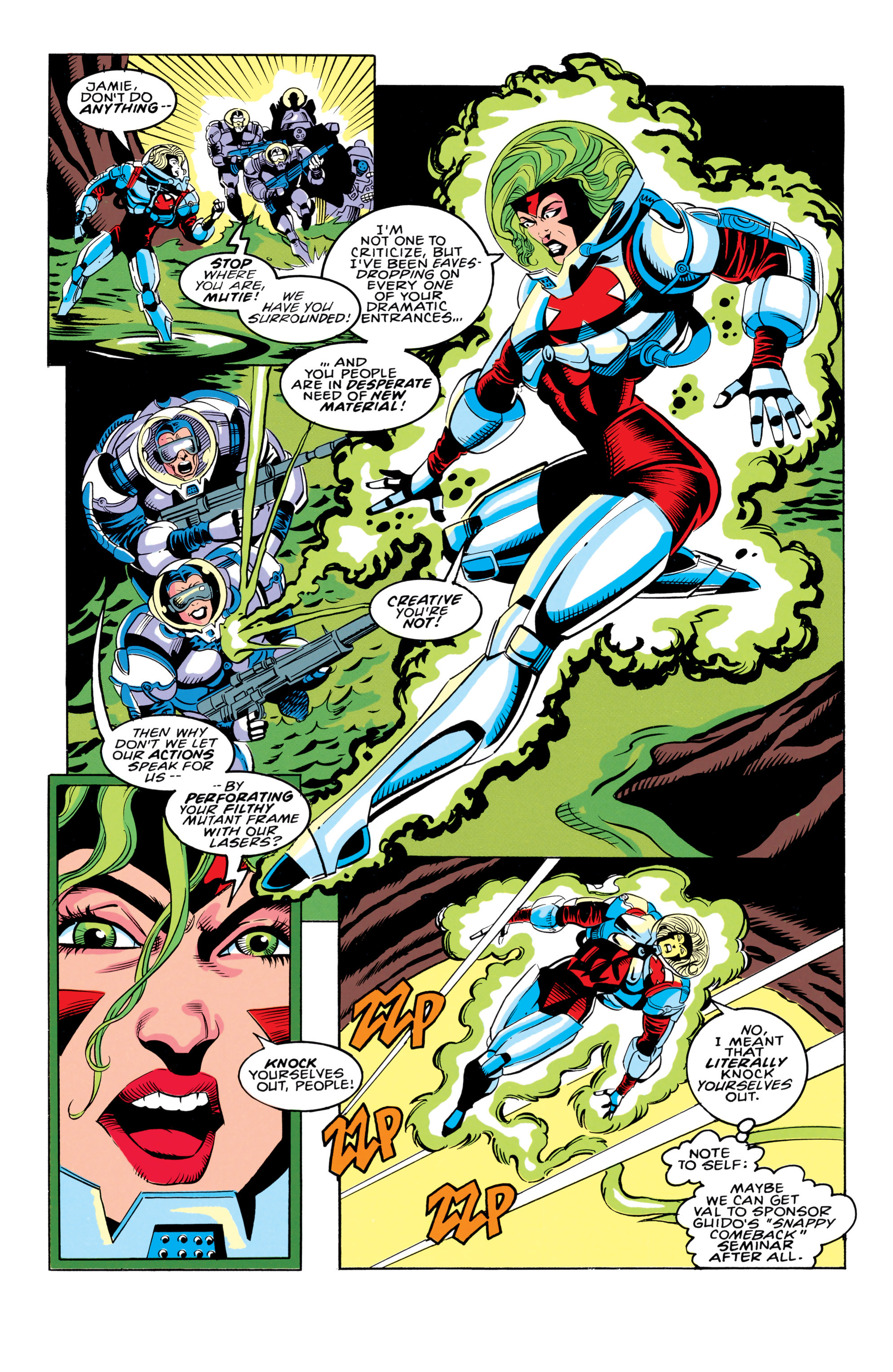 Read online X-Factor (1986) comic -  Issue #91 - 17