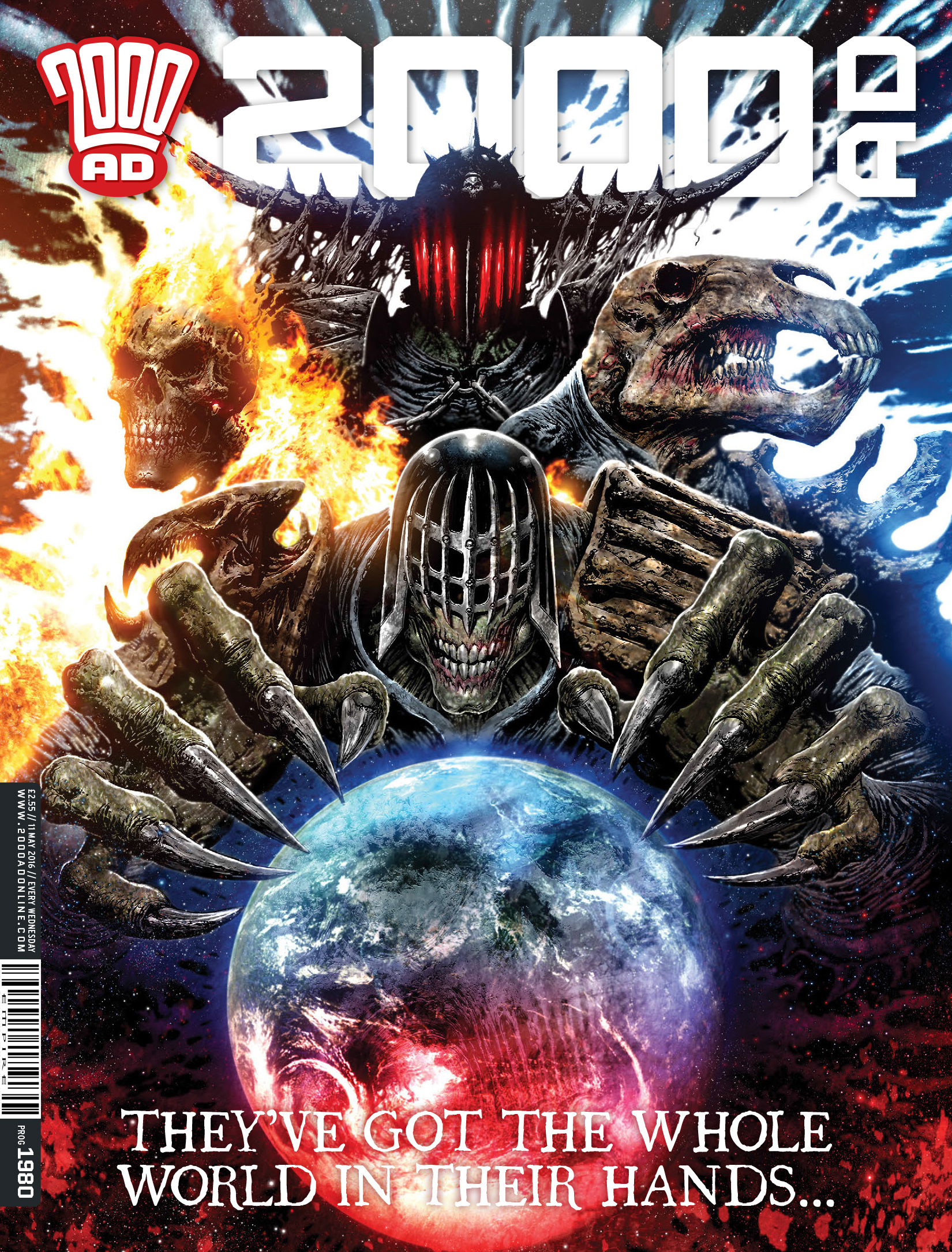 Read online 2000 AD comic -  Issue #1980 - 1