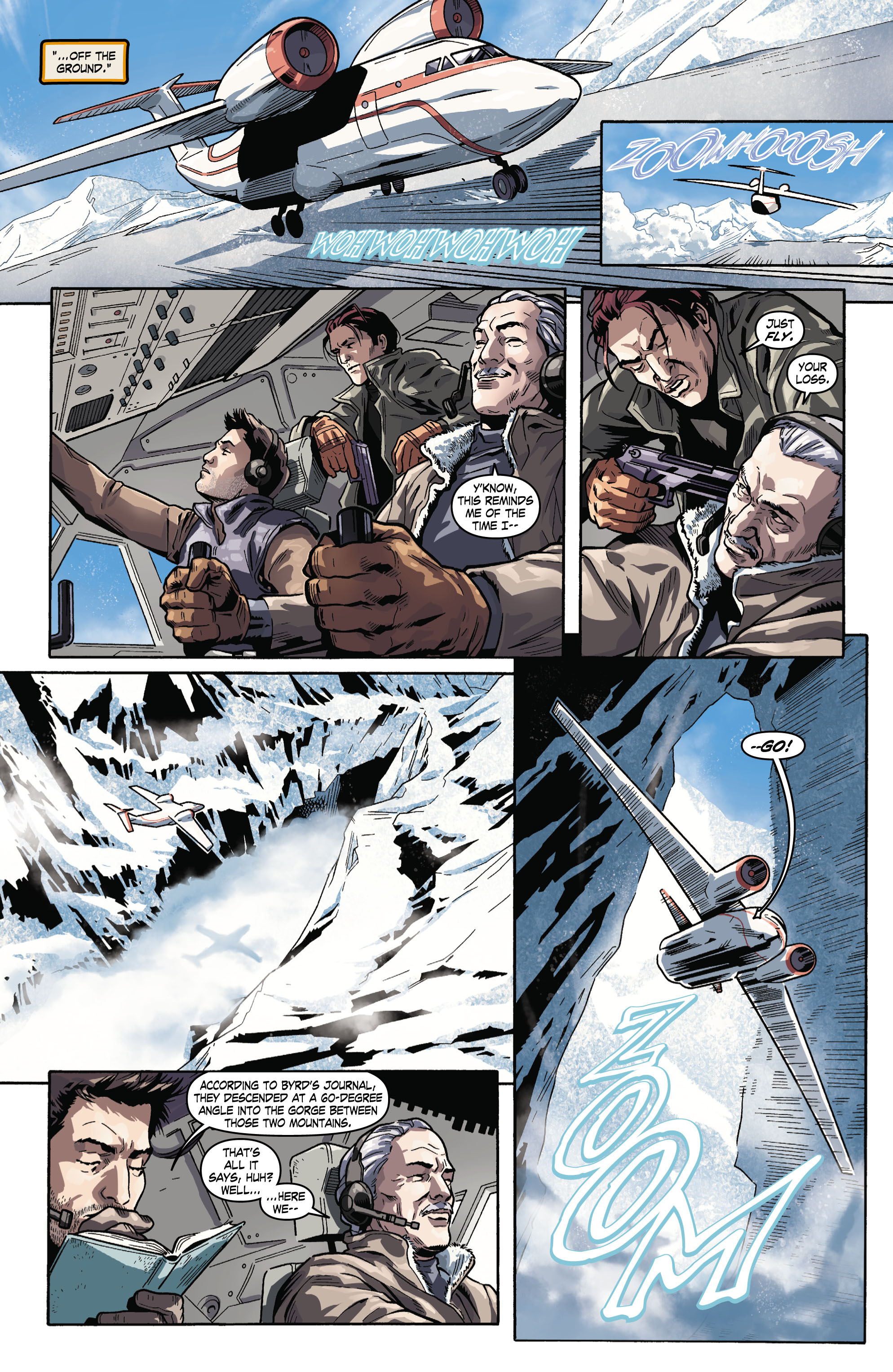 Read online Uncharted comic -  Issue #3 - 16