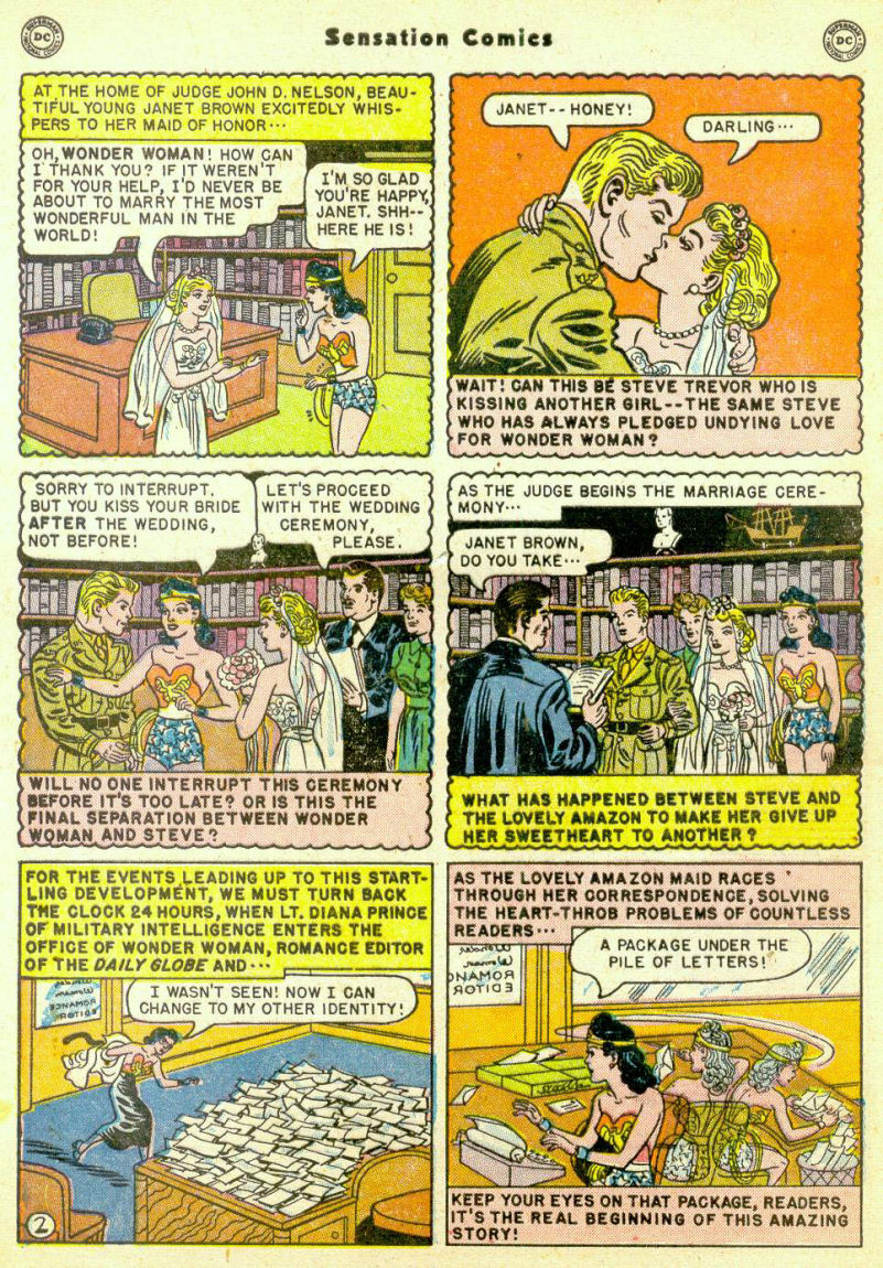 Read online Sensation (Mystery) Comics comic -  Issue #98 - 4