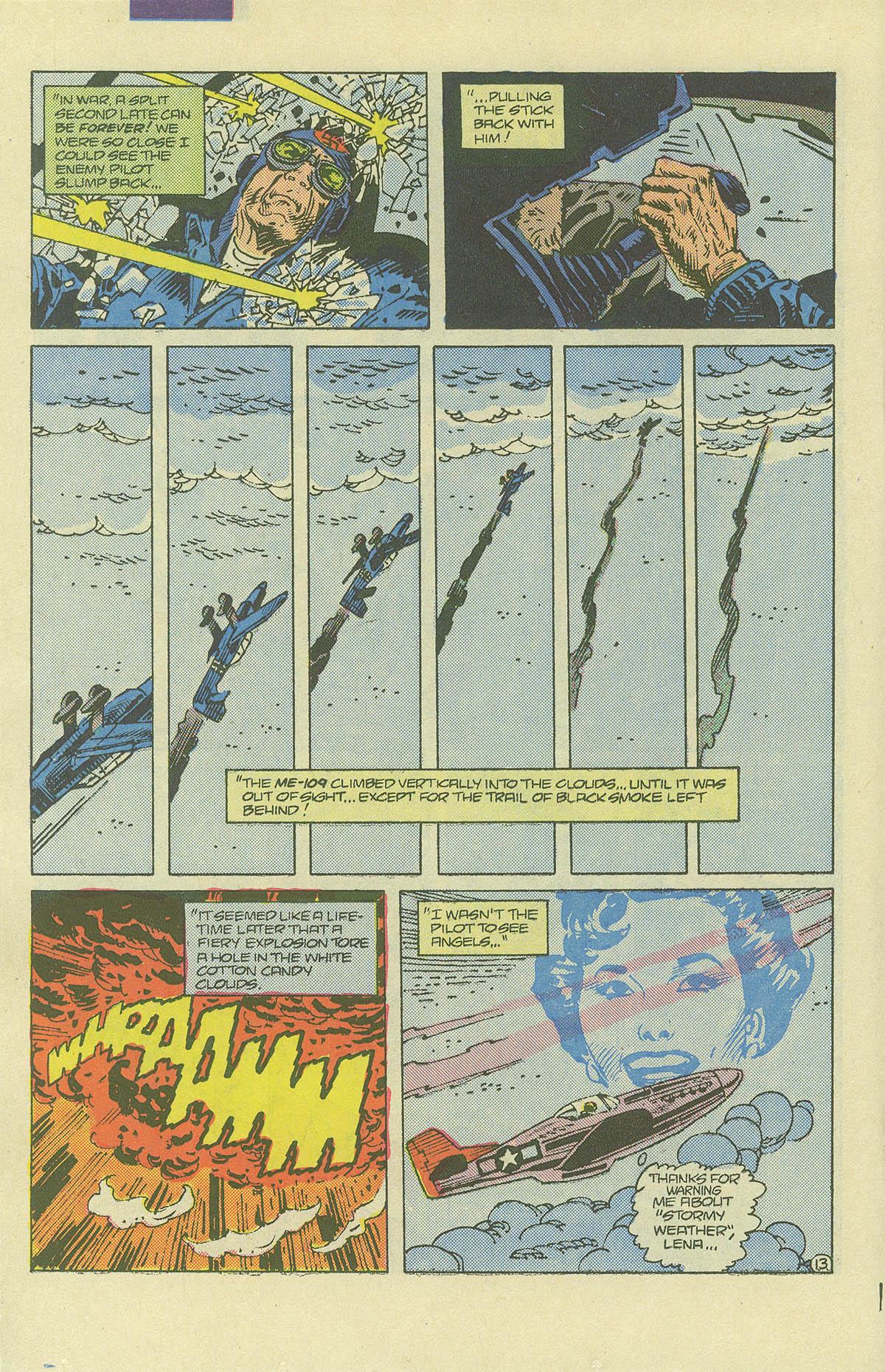 Read online Sgt. Rock comic -  Issue #406 - 17