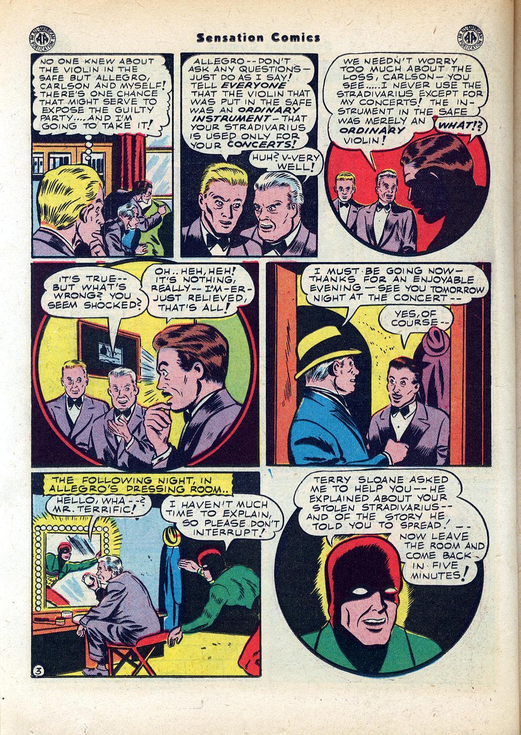 Read online Sensation (Mystery) Comics comic -  Issue #45 - 30