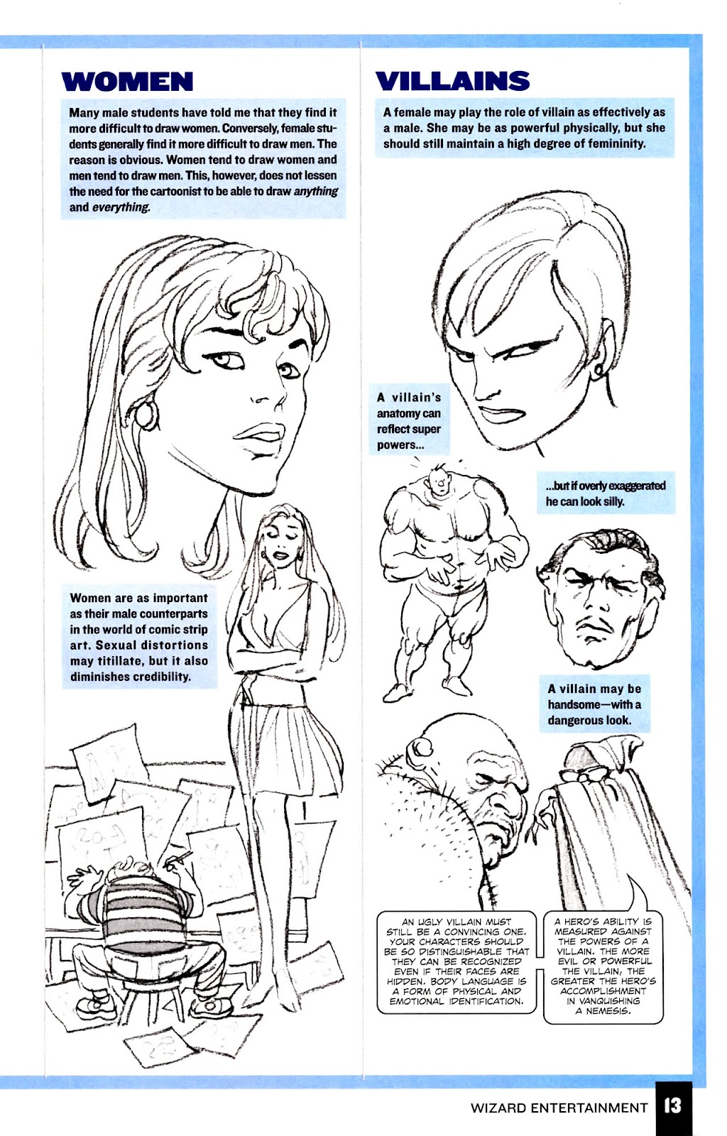 Read online Wizard How to Draw Sampler comic -  Issue # Full - 14