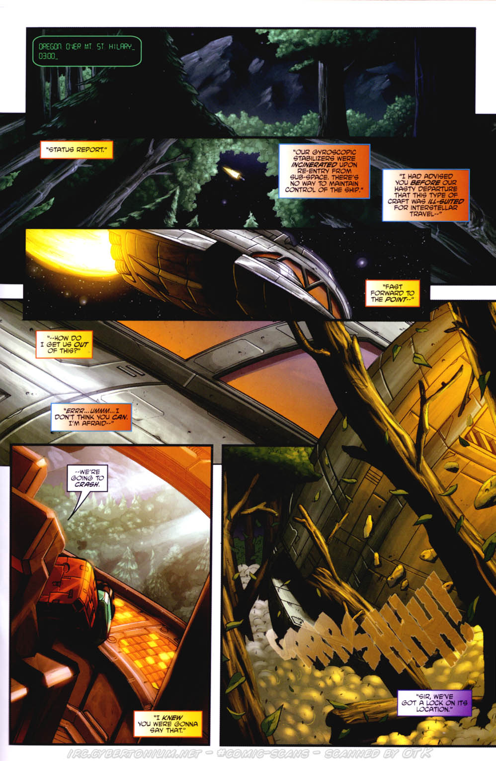 Read online Transformers/G.I. Joe: Divided Front comic -  Issue # Full - 13