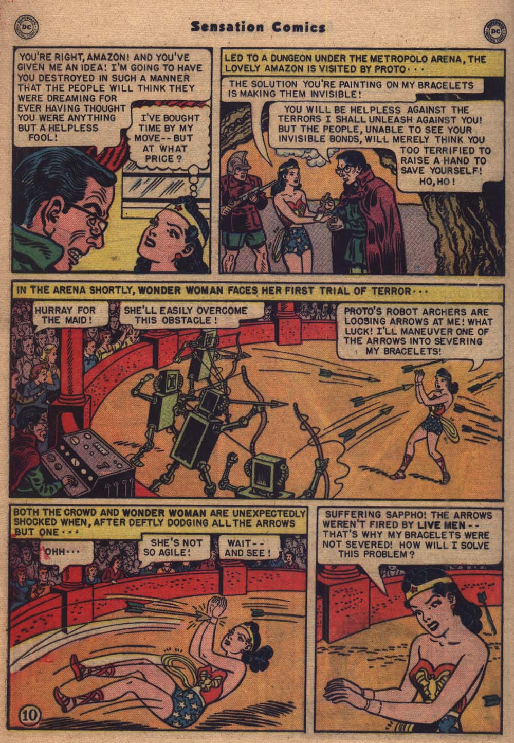 Read online Sensation (Mystery) Comics comic -  Issue #103 - 11