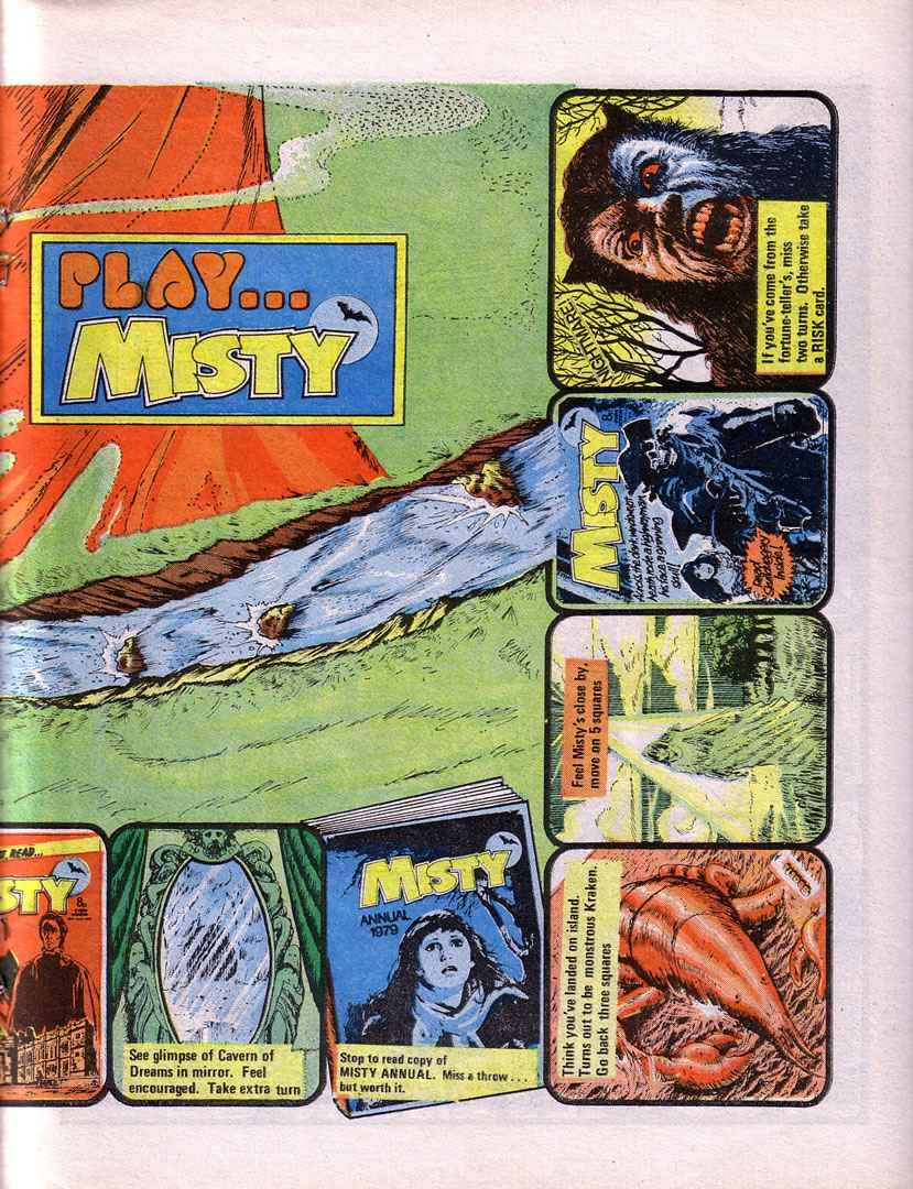Read online Misty comic -  Issue #32 - 17