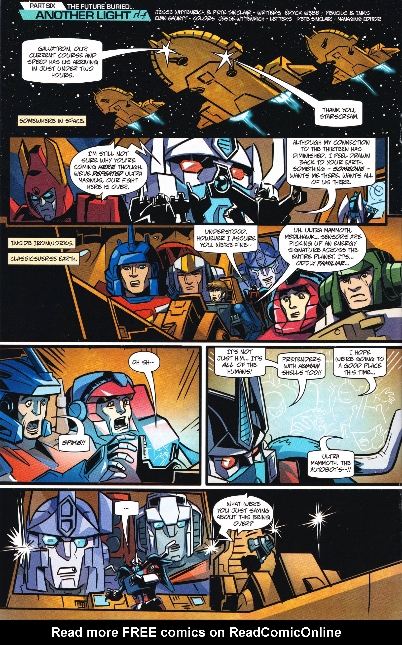 Read online Transformers: Collectors' Club comic -  Issue #66 - 4