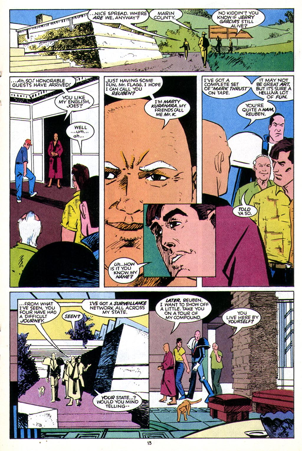 Read online American Flagg! comic -  Issue #43 - 17