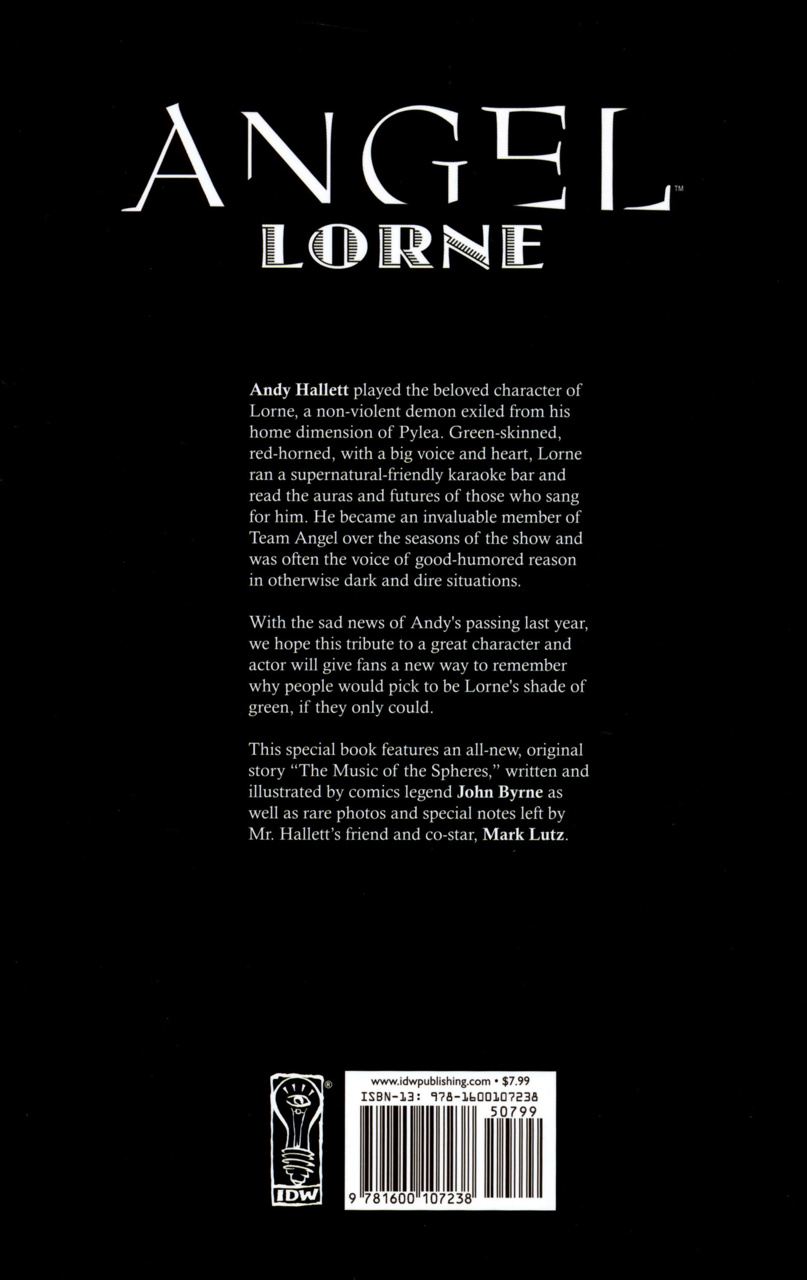 Read online Angel Special: Lorne comic -  Issue # Full - 51