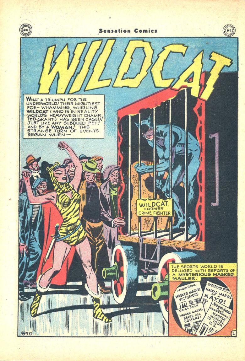 Read online Sensation (Mystery) Comics comic -  Issue #68 - 42