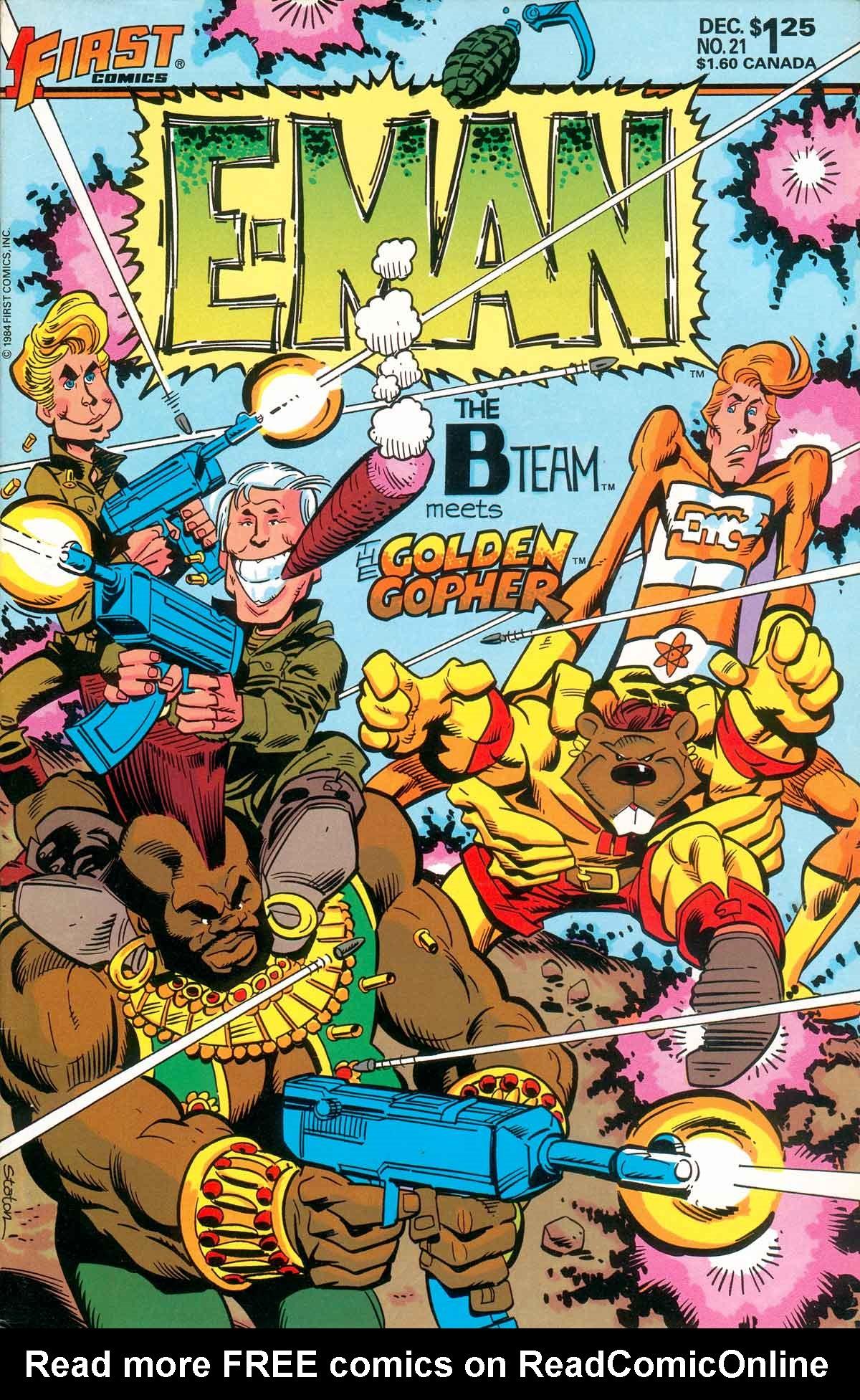 E-Man (1983) 21 Page 1