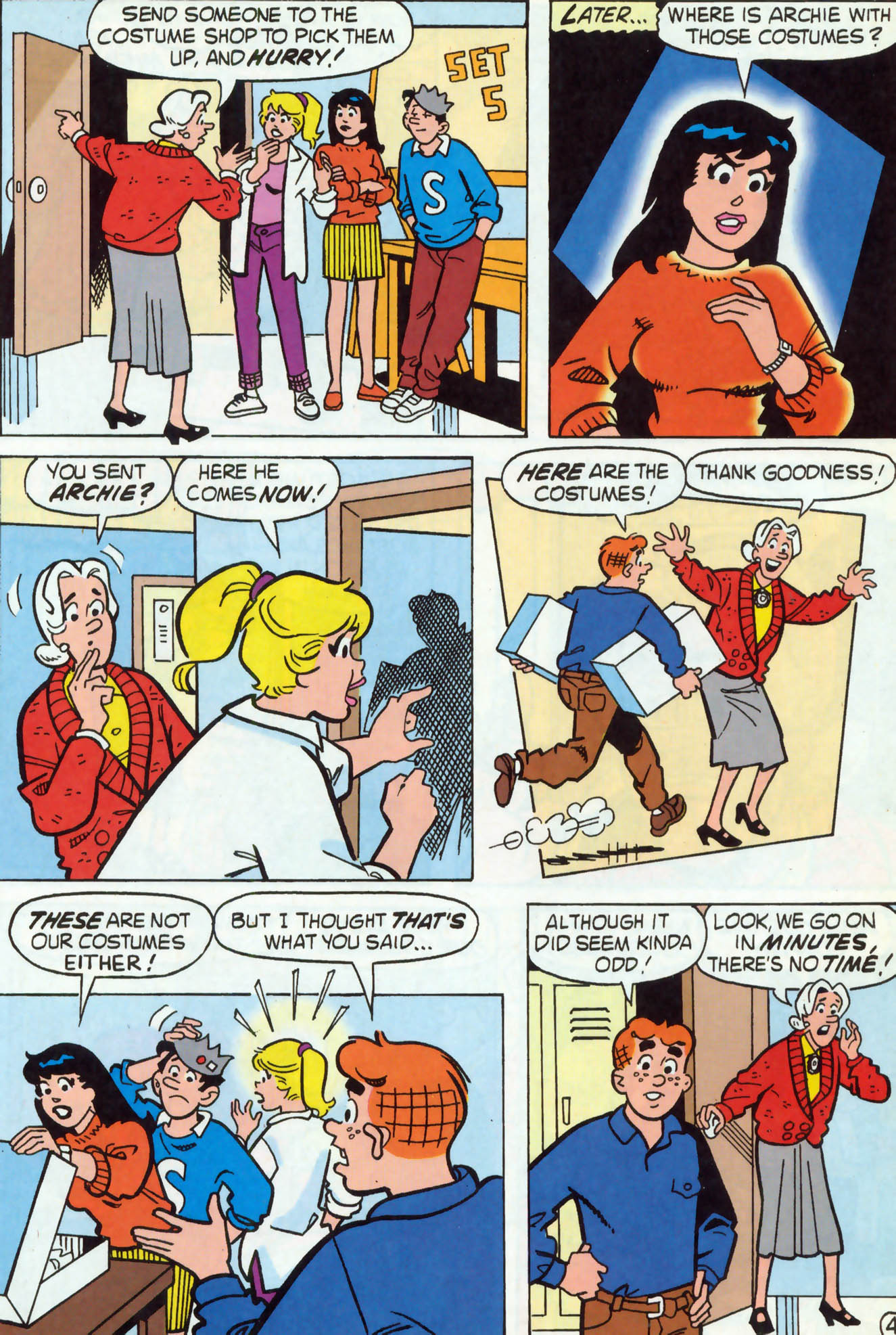 Read online Archie (1960) comic -  Issue #465 - 24
