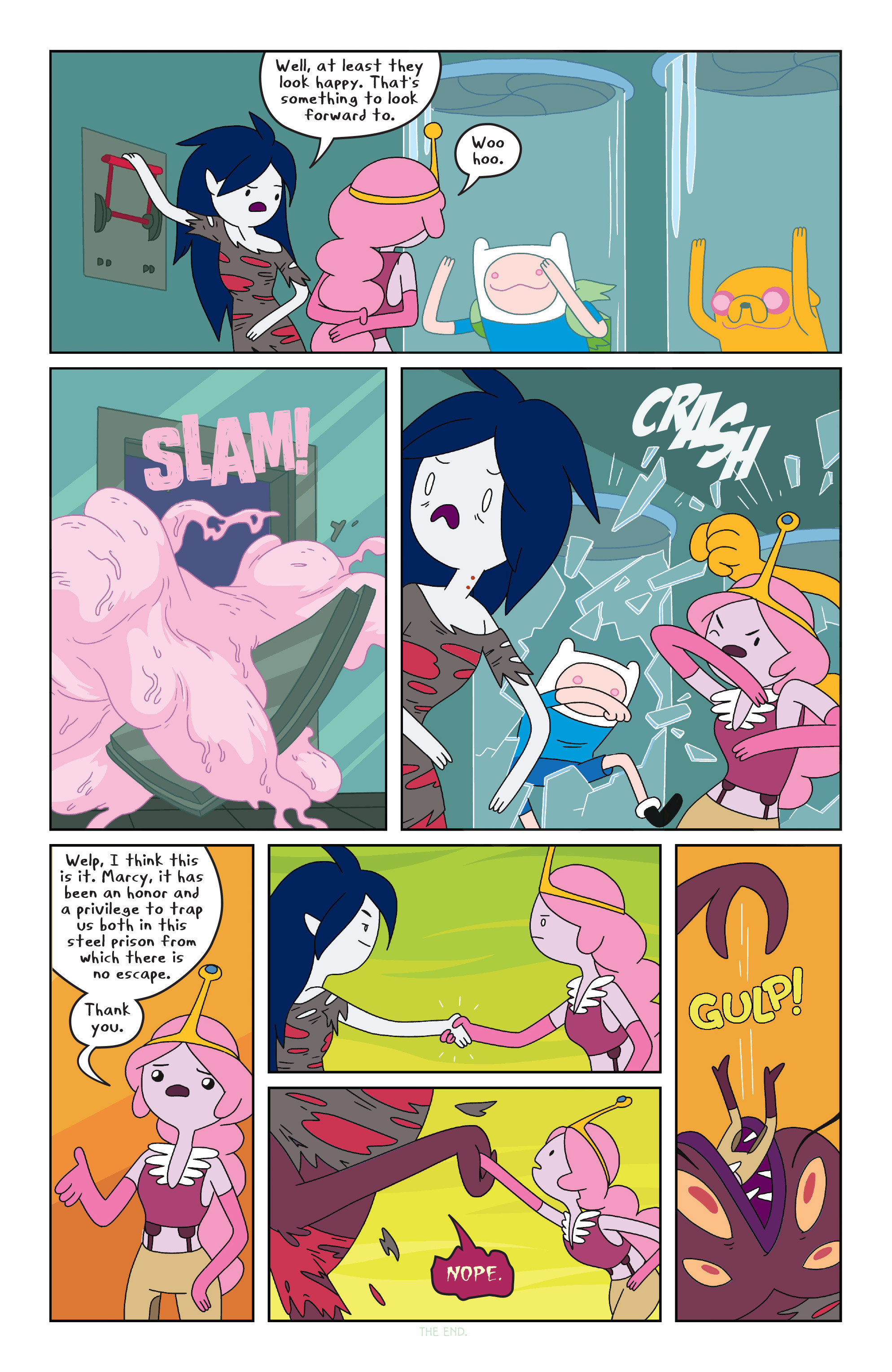Read online Adventure Time comic -  Issue #23 - 19
