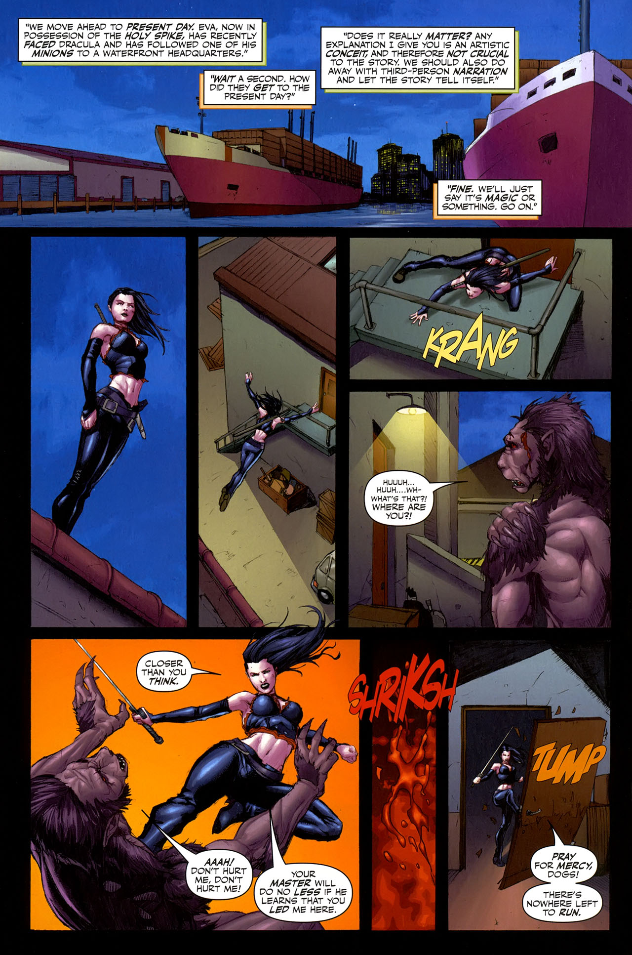 Read online Eva: Daughter of the Dragon comic -  Issue # Full - 18