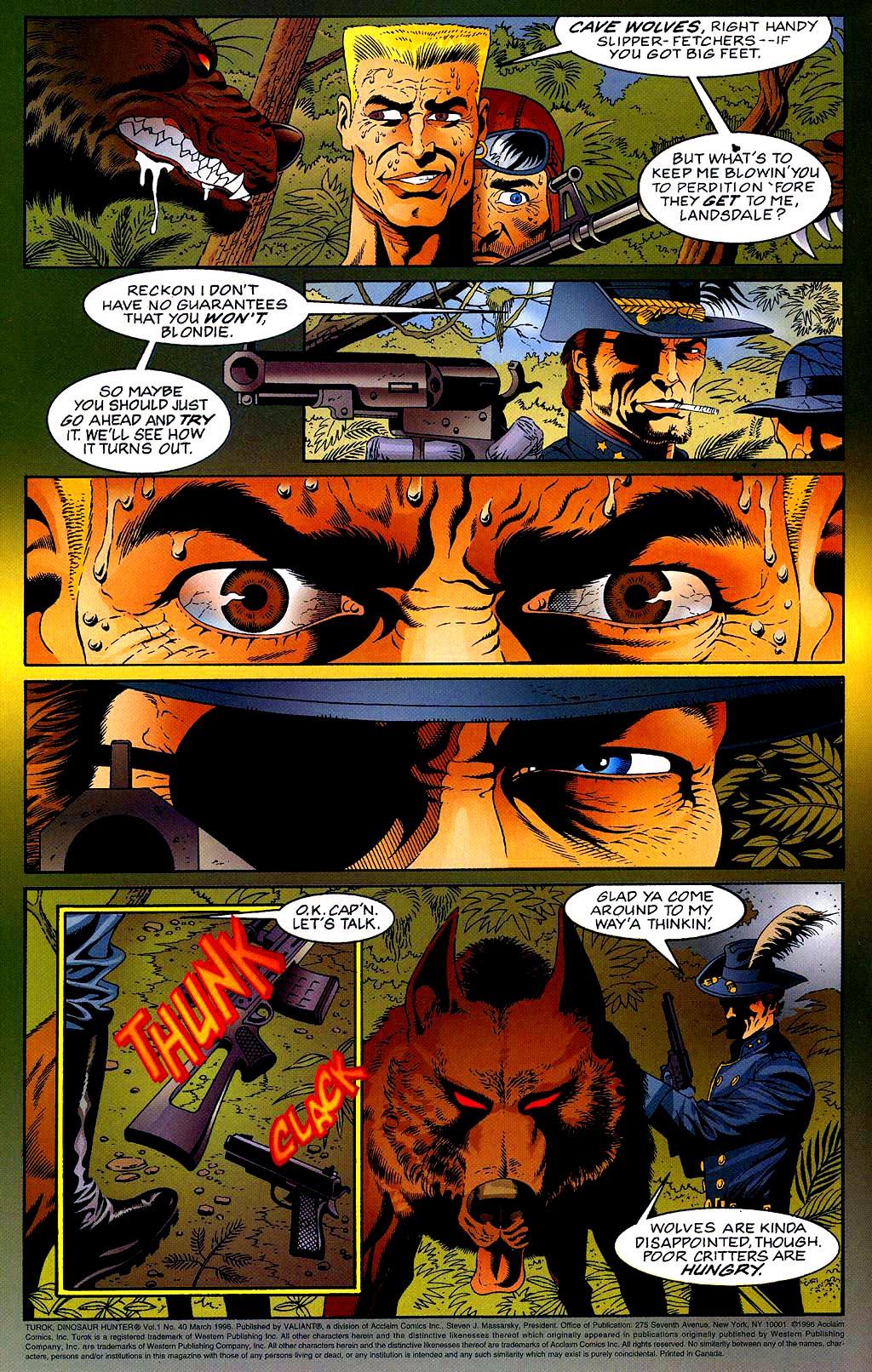 Read online Turok, Dinosaur Hunter (1993) comic -  Issue #40 - 4