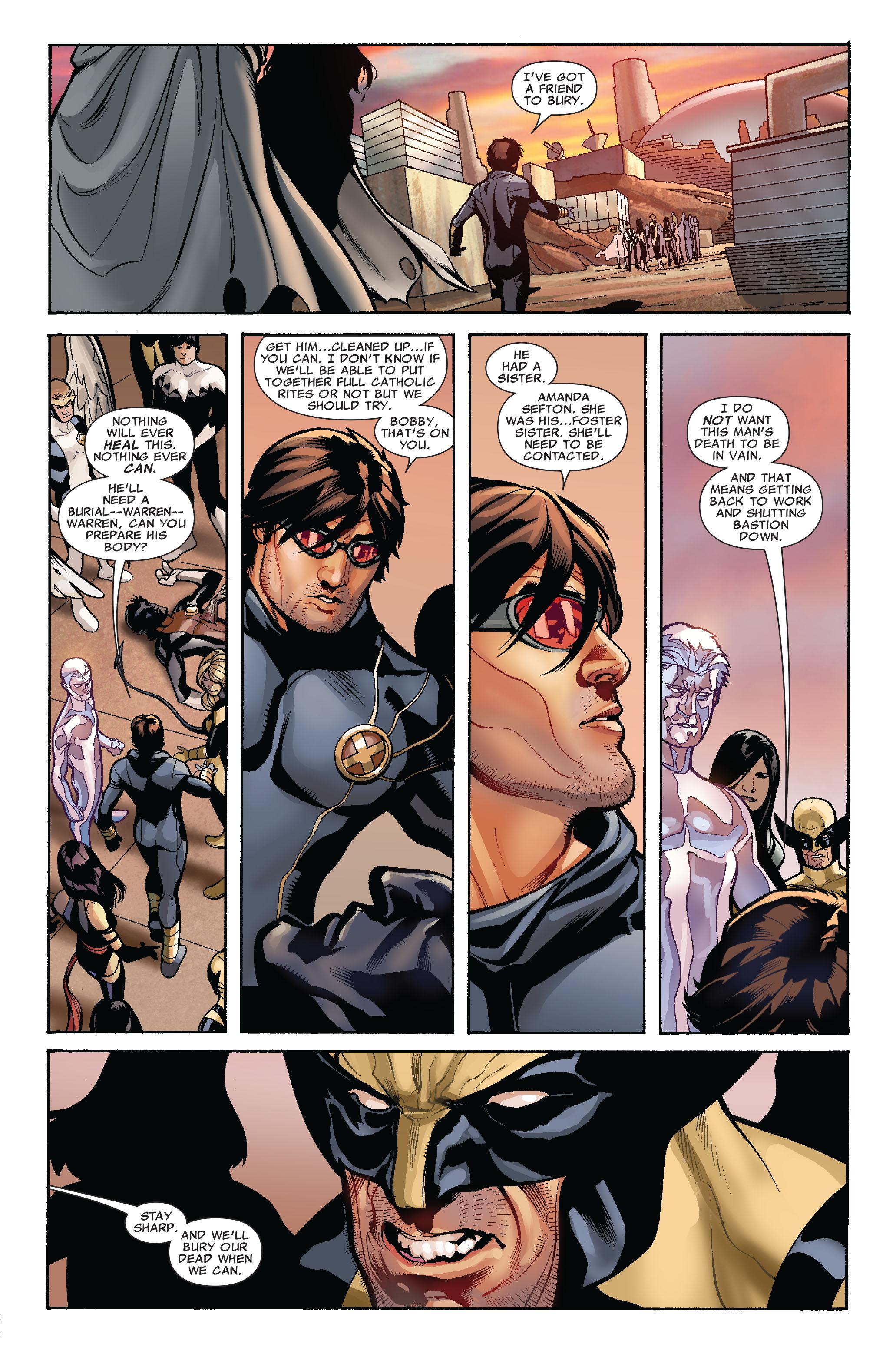 Read online Uncanny X-Men (1963) comic -  Issue #524 - 9