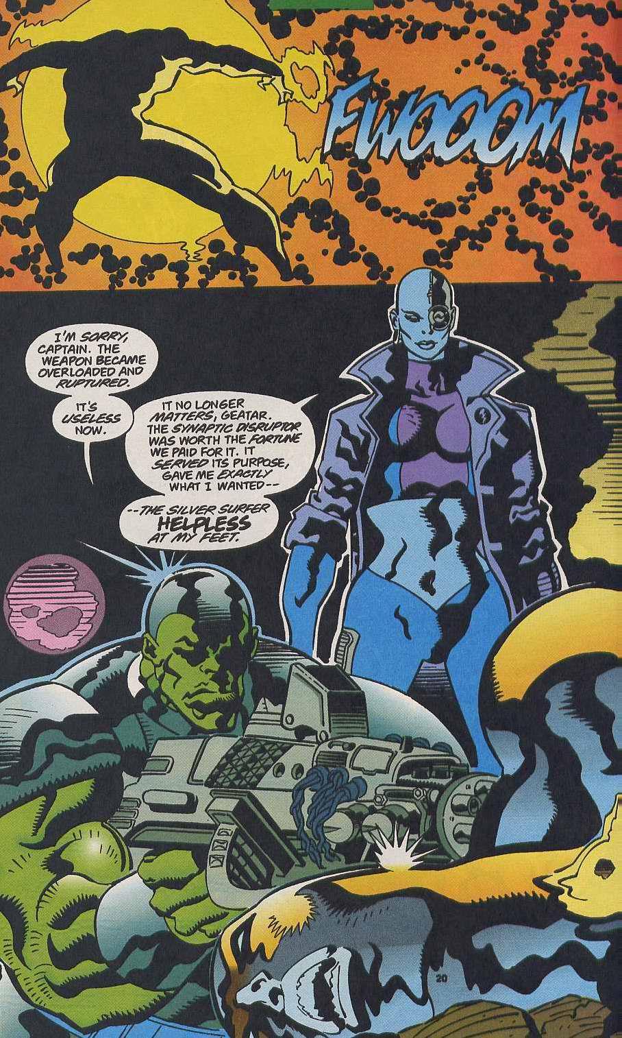 Read online Secret Defenders comic -  Issue #9 - 17