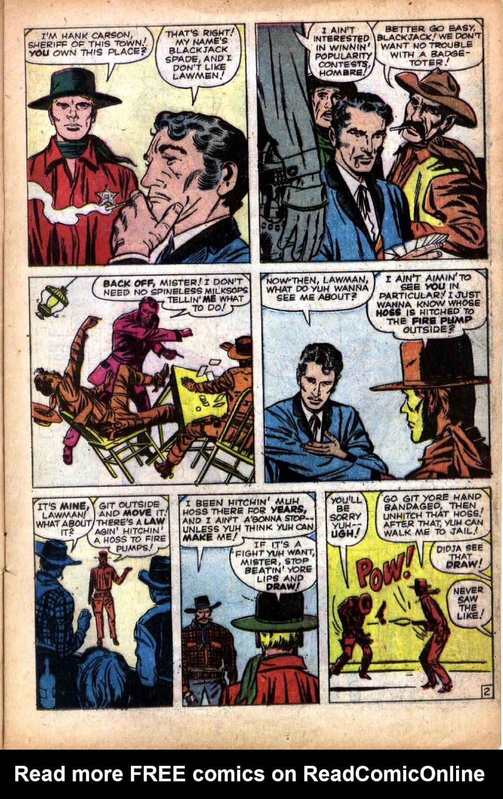 Gunsmoke Western issue 66 - Page 13