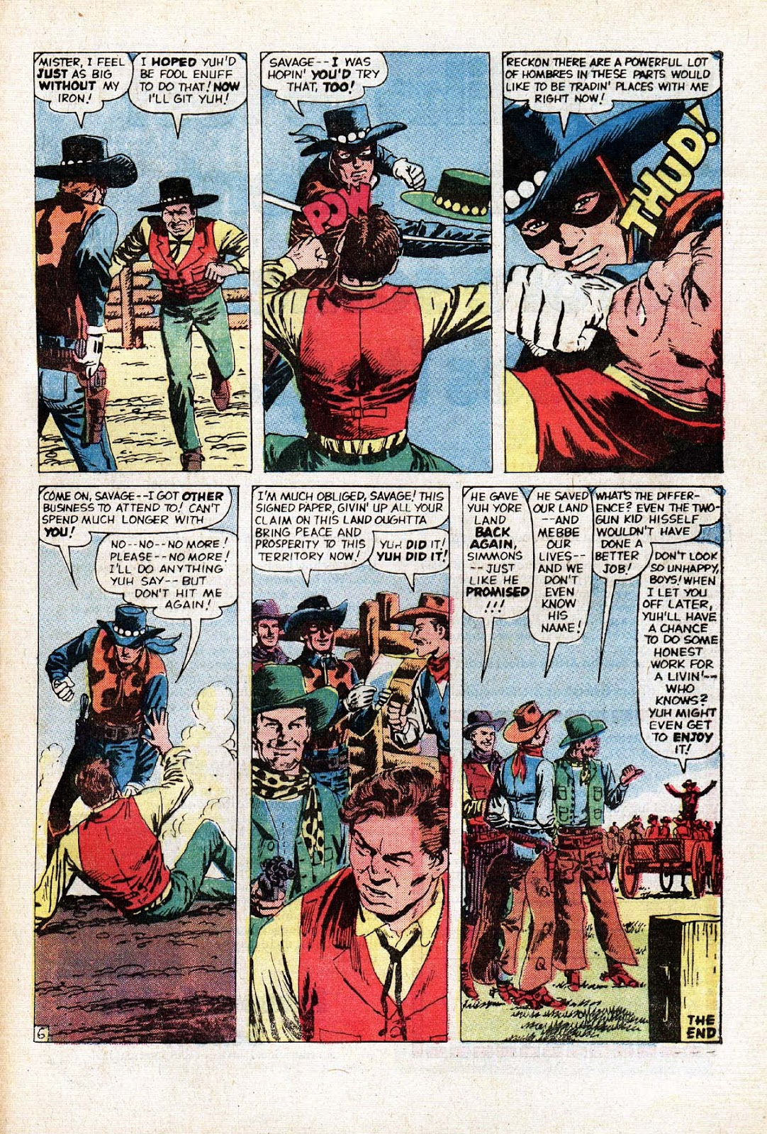 The Mighty Marvel Western issue 15 - Page 39
