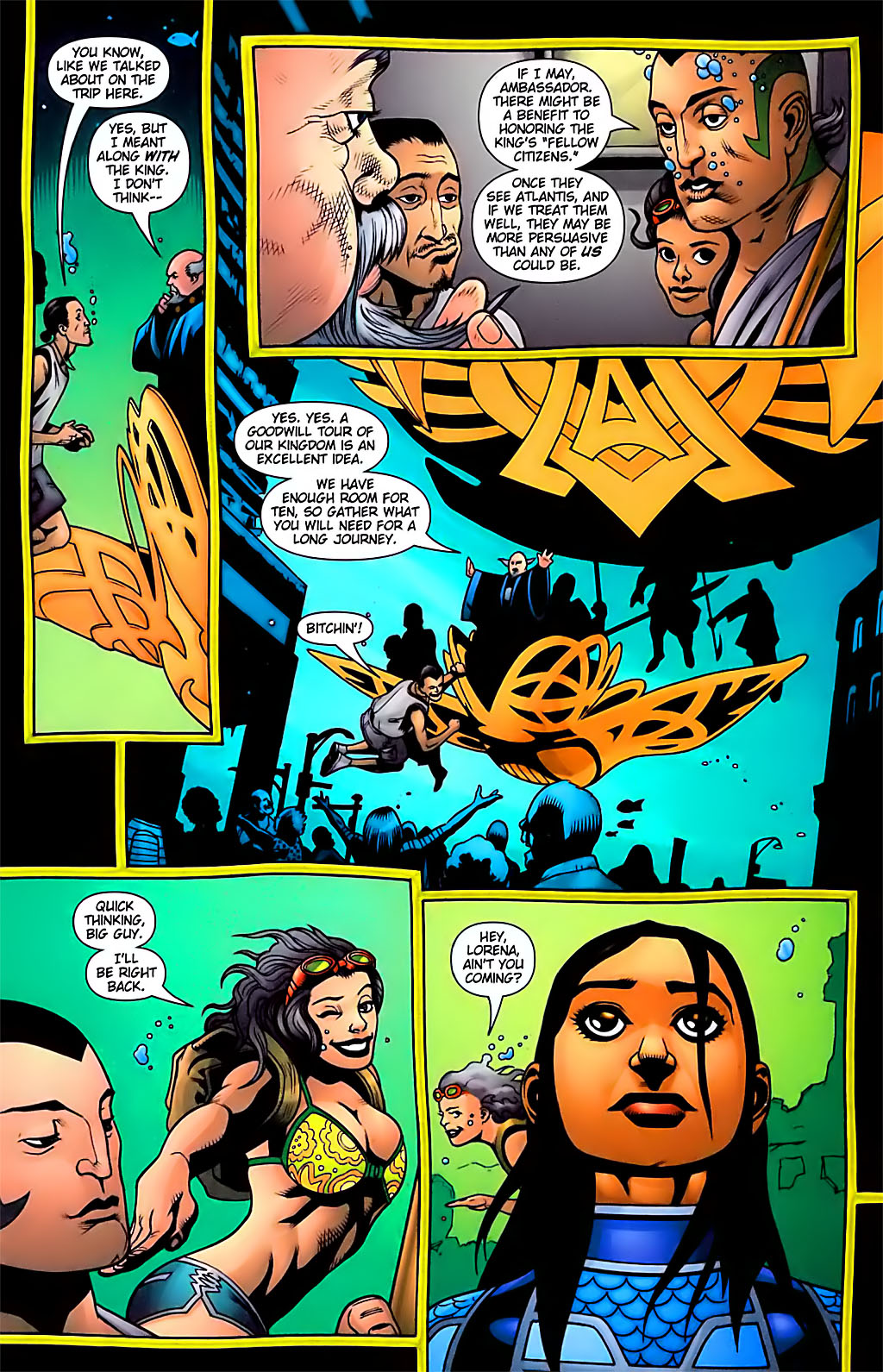 Read online Aquaman (2003) comic -  Issue #29 - 11