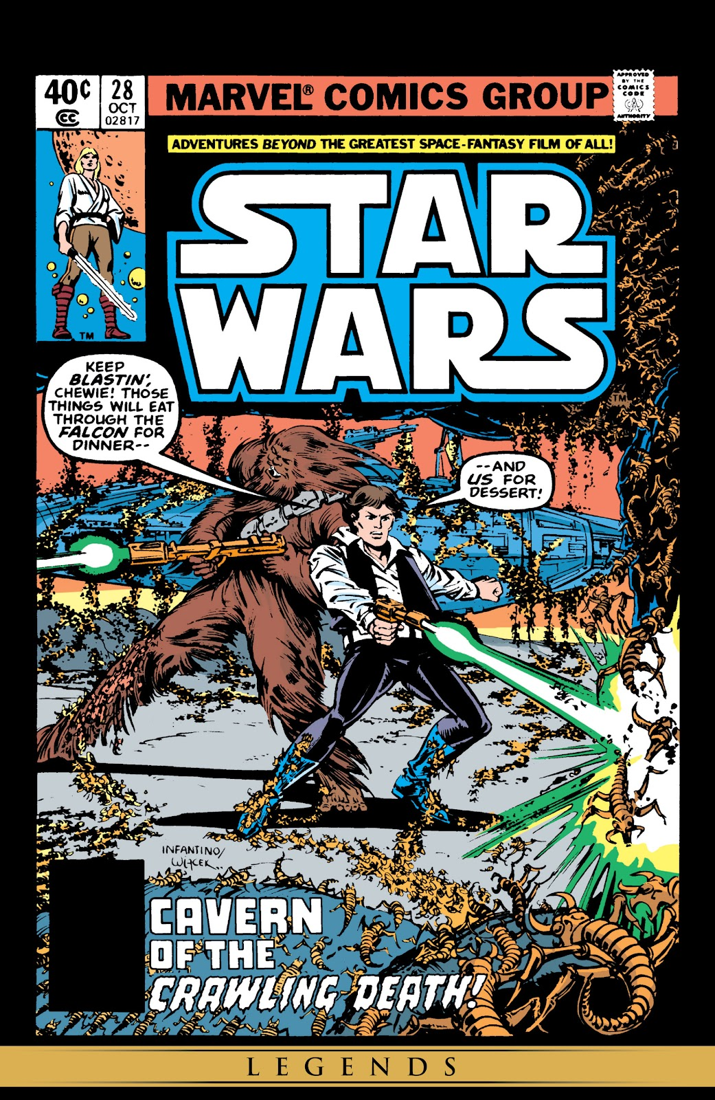Read online Star Wars Legends: The Original Marvel Years - Epic Collection comic -  Issue # TPB 2 (Part 1) - 78